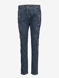 Fine Western - straight jeans - blue