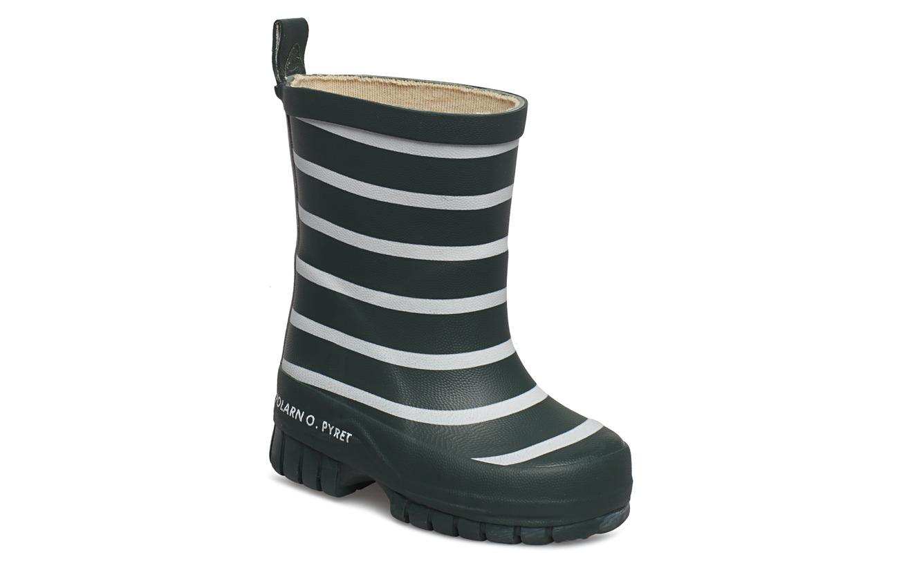 Polarn O. Pyret Rain Boots PO.P Stripe Baby