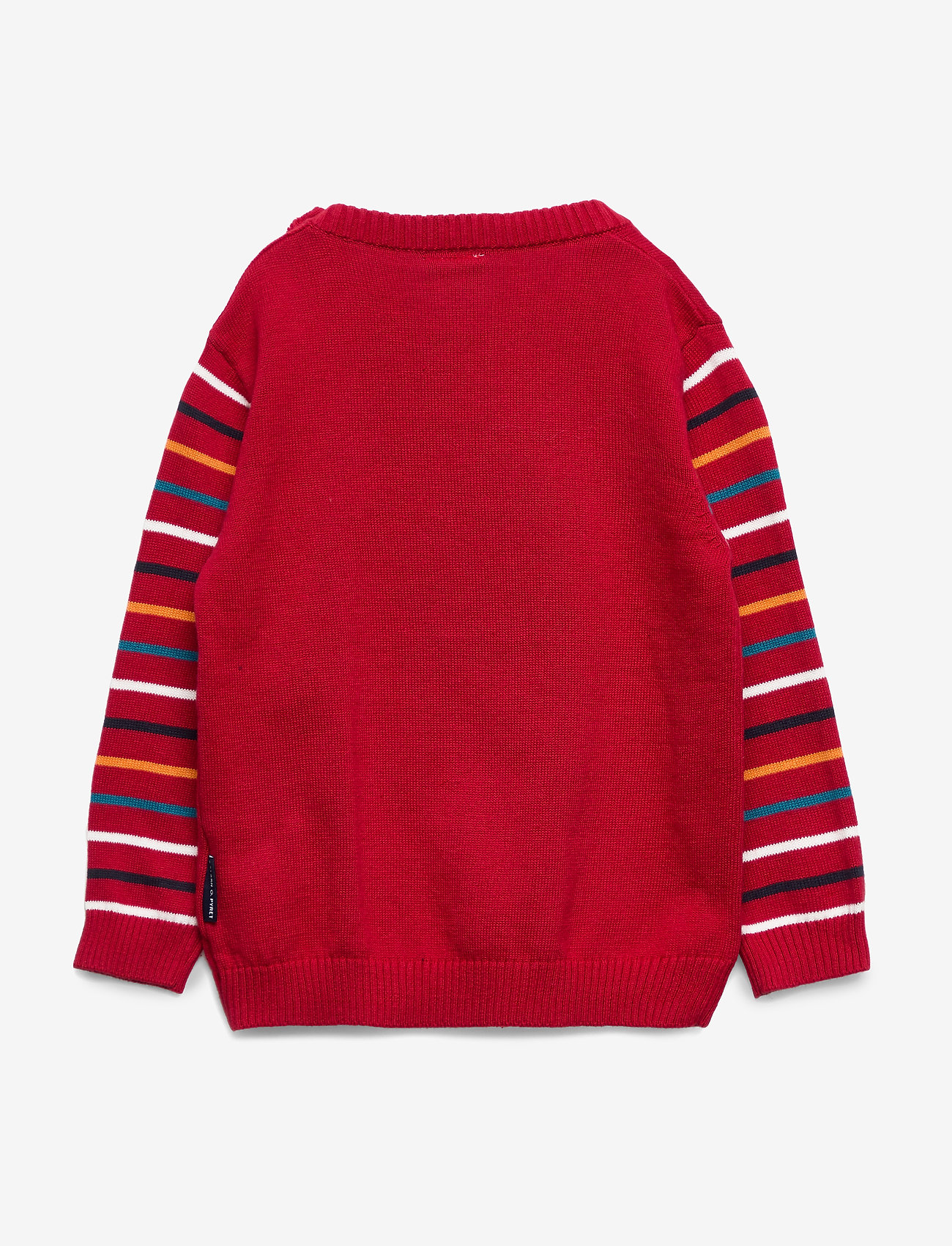 Polarn O. Pyret Sweater Knitted Pre-school - Överdelar Chili Pepper