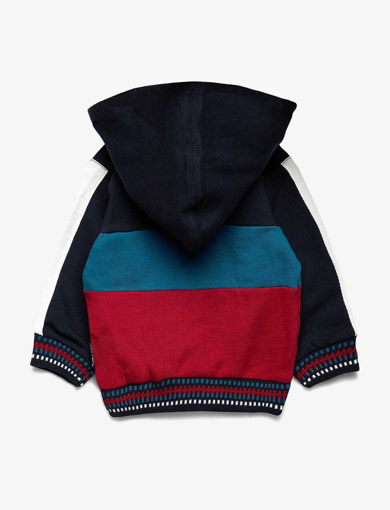 Polarn O. Pyret Cotton Fleece Hood Pre-school - Överdelar Dark Sapphire