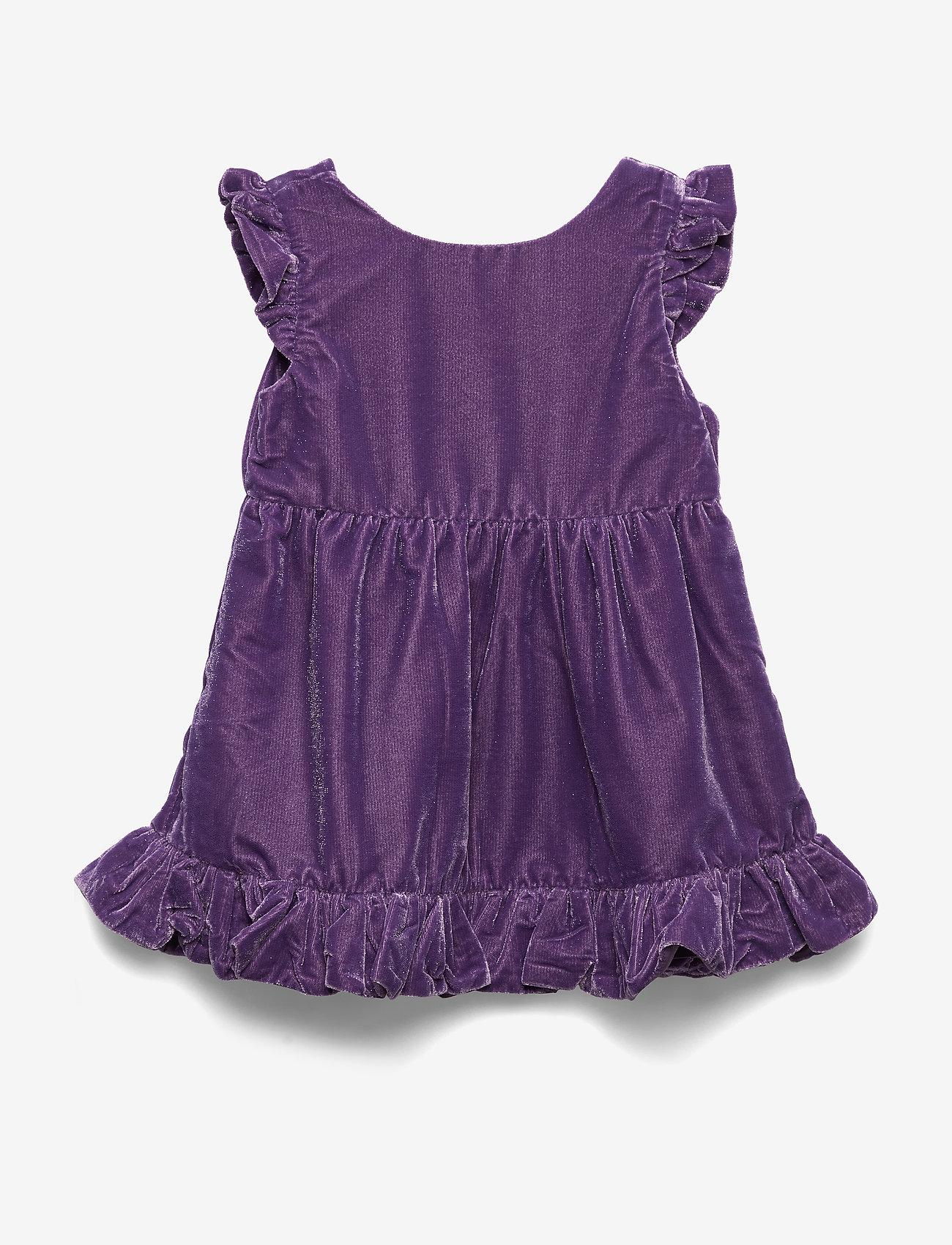 Polarn O. Pyret - Dress solid Preschool - jurken - loganberry - 0