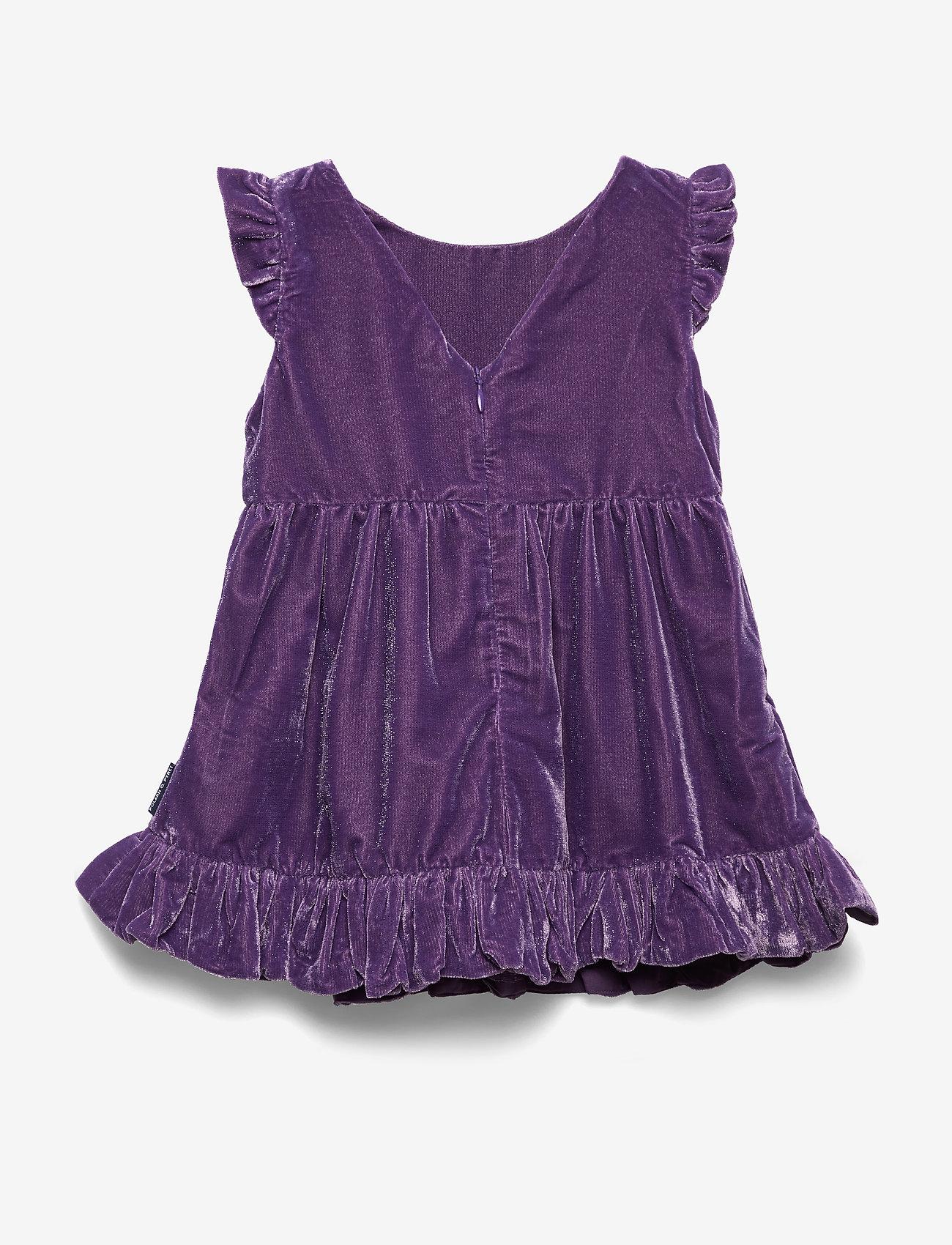 Polarn O. Pyret - Dress solid Preschool - jurken - loganberry - 1