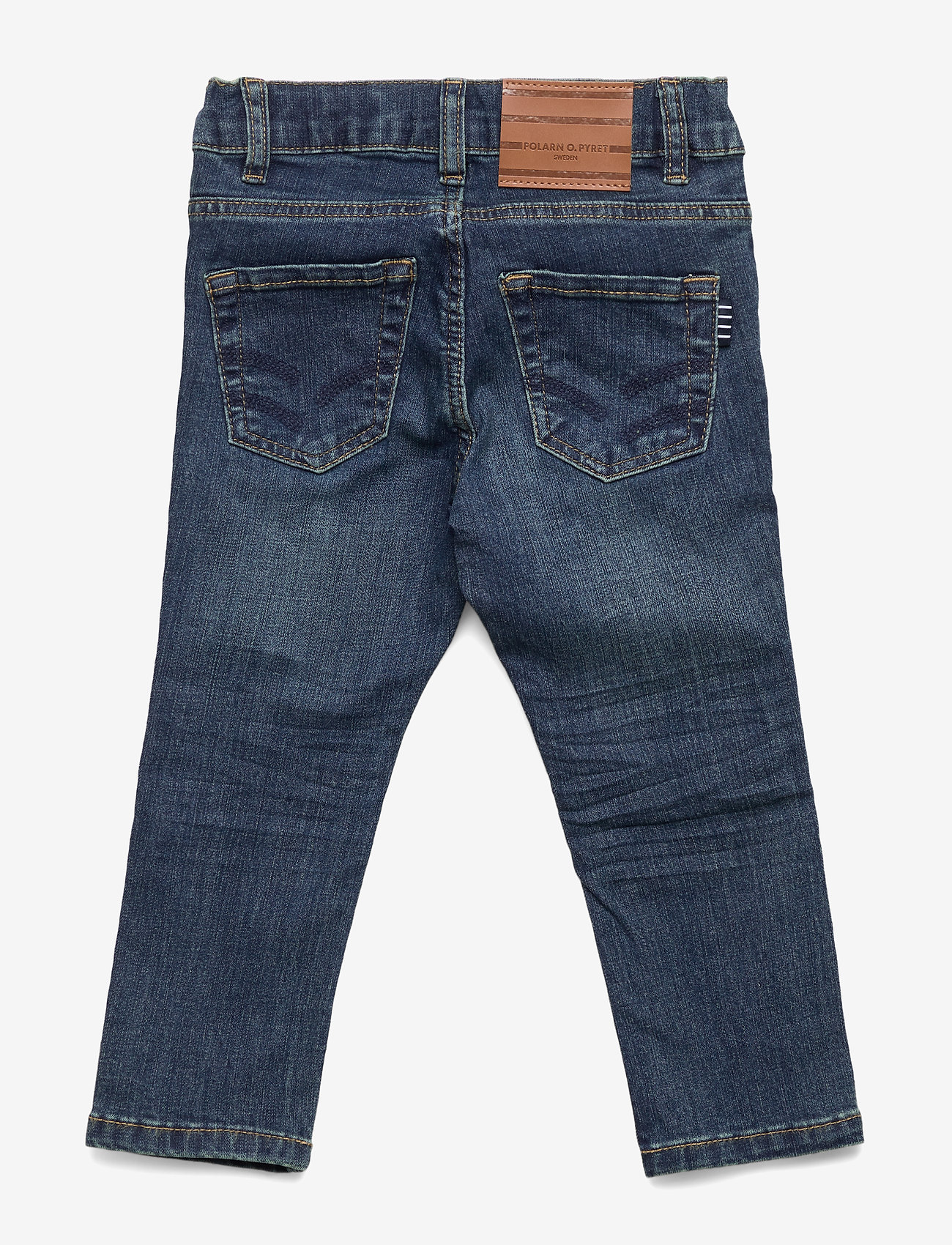 Polarn O. Pyret - Super slim fit, stretch jeans - jeans - blue denim - 1
