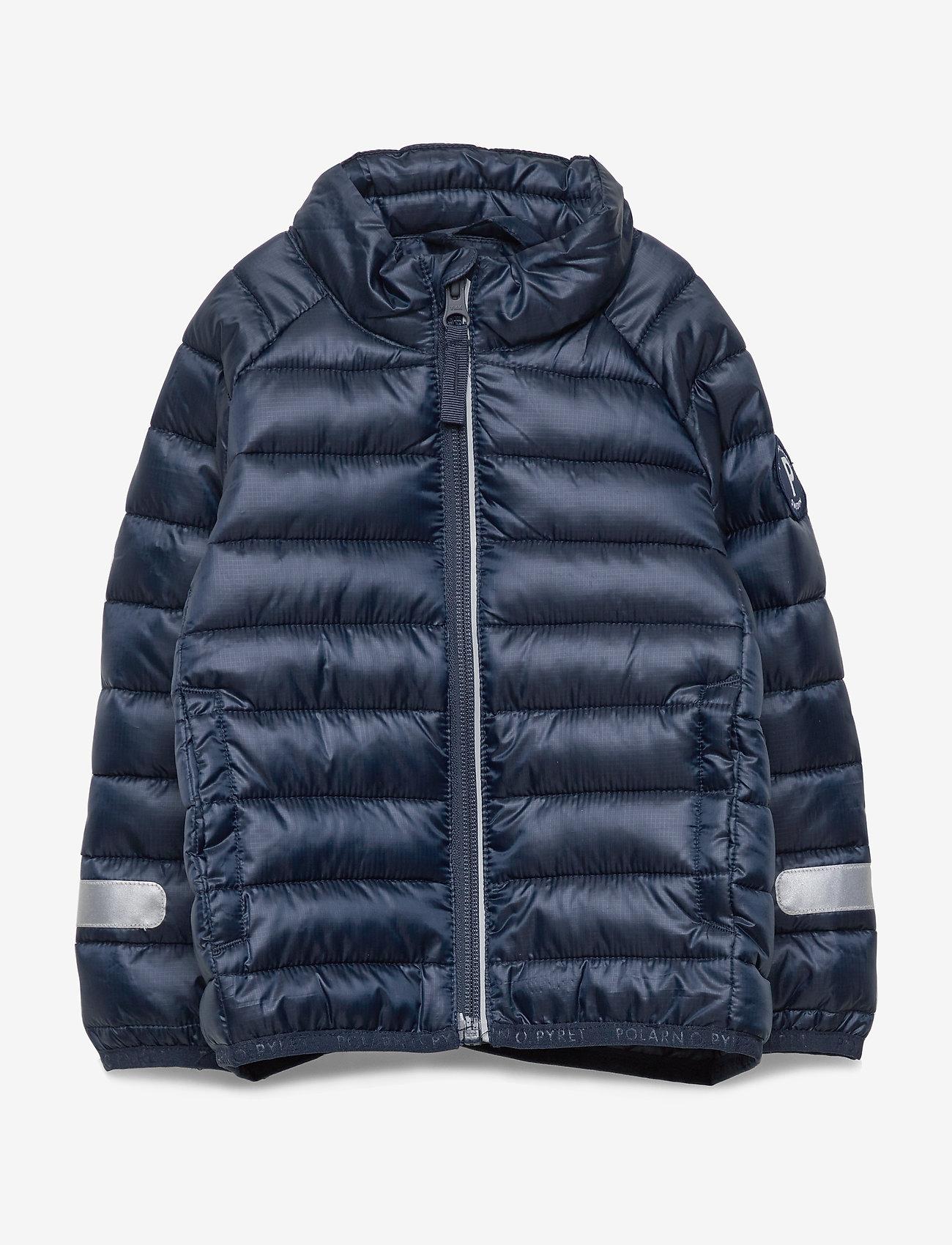 Polarn O. Pyret - Jacket Padded Solid PreSchool - dunjakker & forede jakker - dark sapphire - 0
