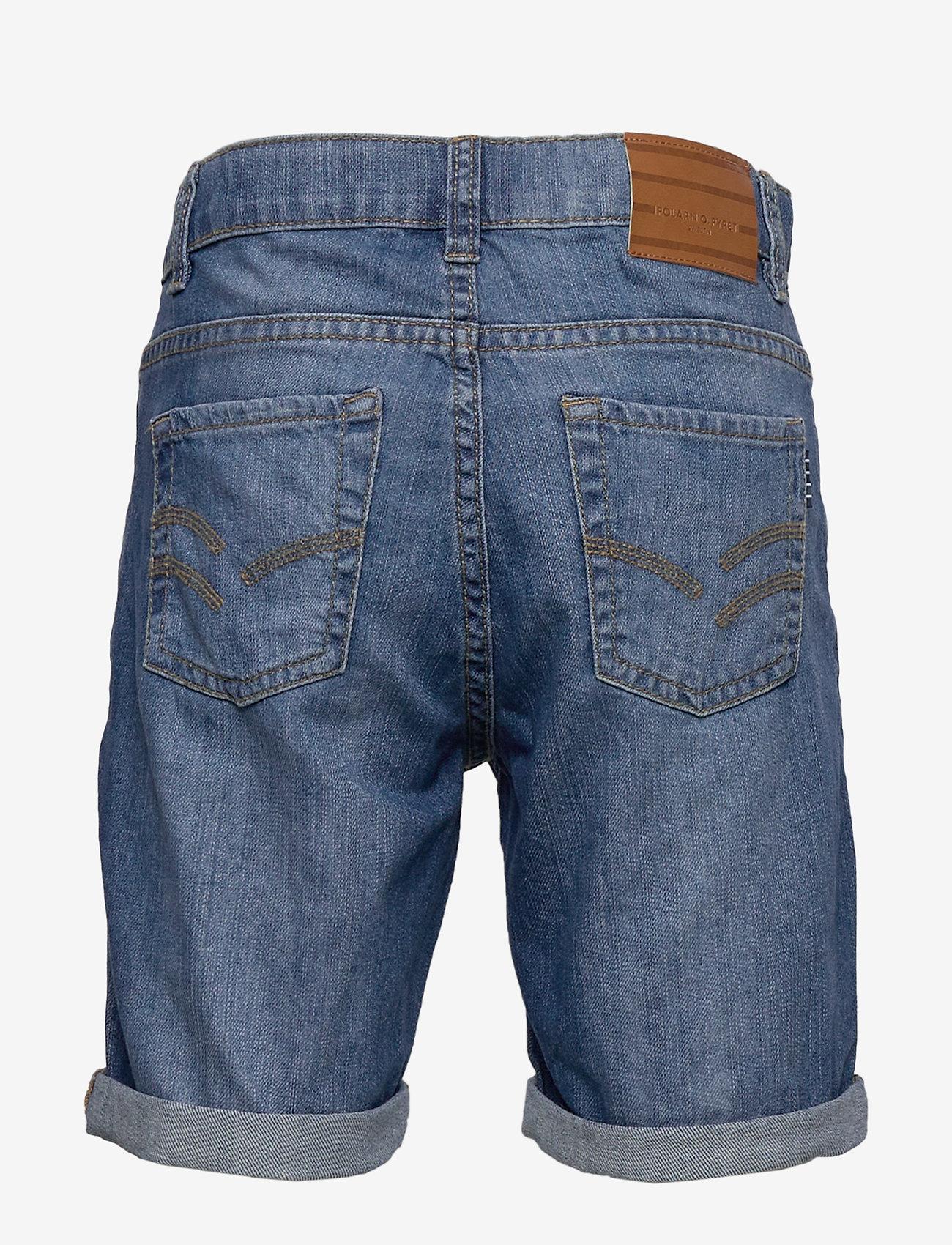 Polarn O. Pyret - Shorts Denim School - shortsit - light denim
