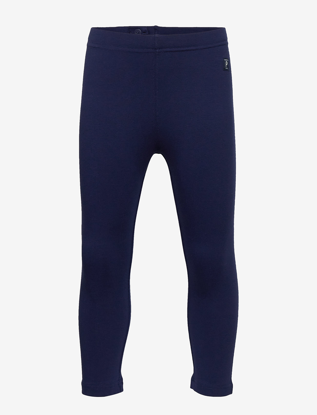 Polarn O. Pyret - Leggings Solid School - leggingsit - medieval blue