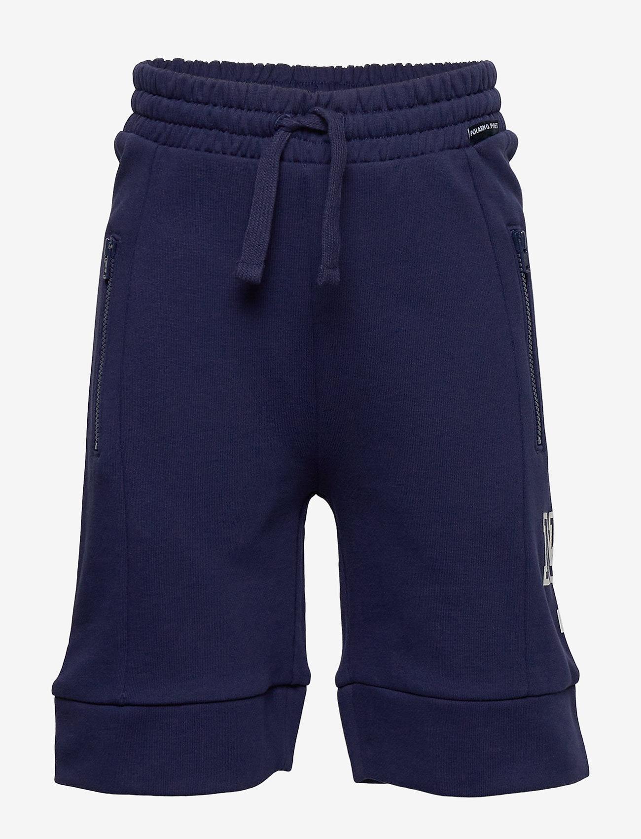 Polarn O. Pyret - Shorts jersey School - shortsit - medieval blue