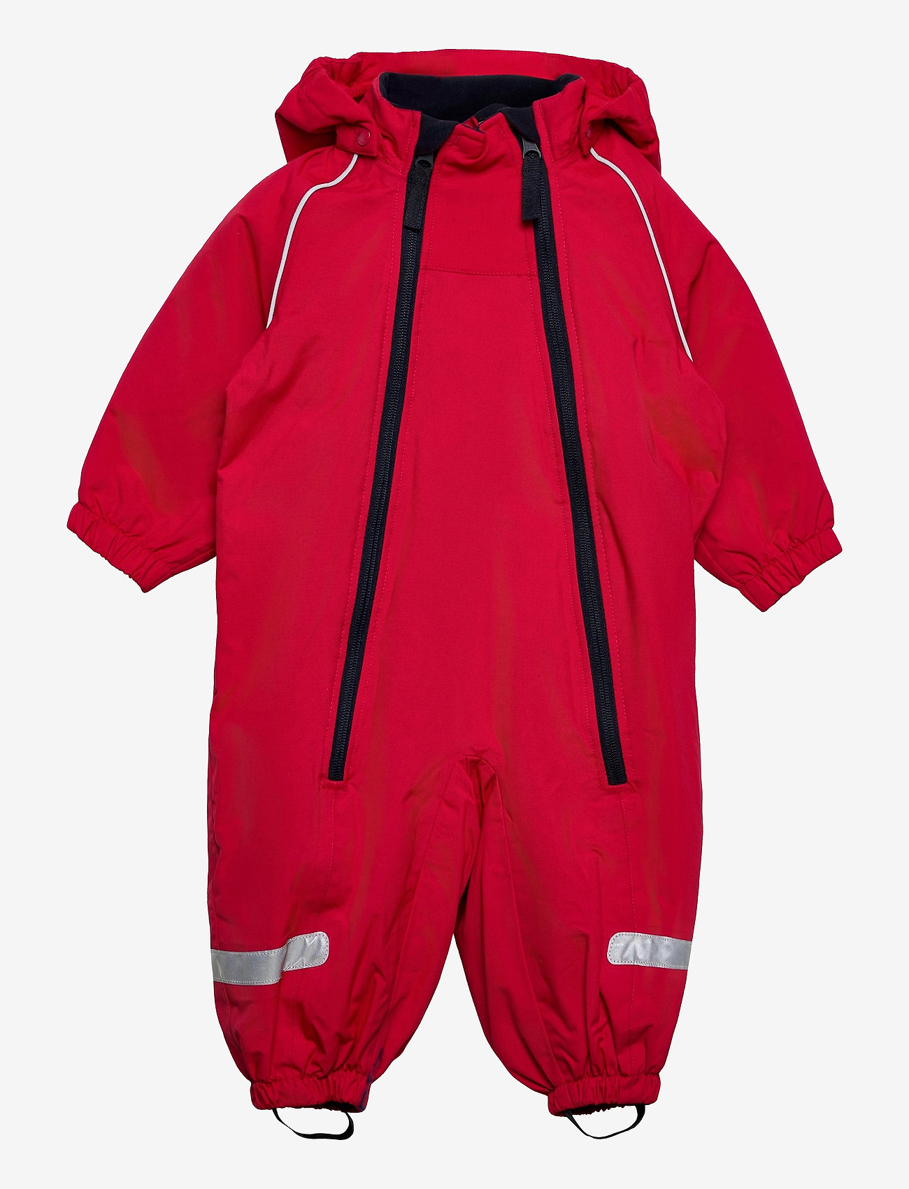 Polarn O. Pyret - Overall Shell Lined Baby - shell clothing - ski patrol - 0