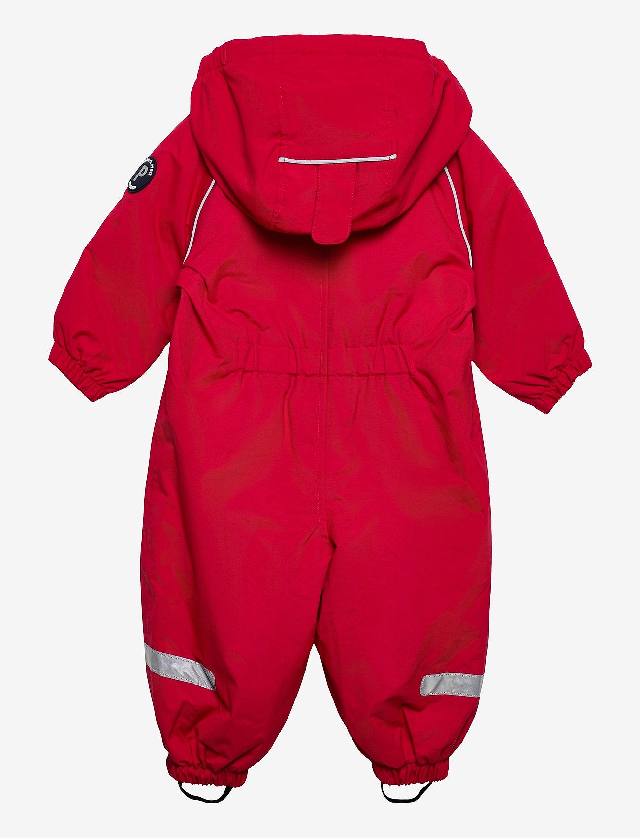 Polarn O. Pyret - Overall Shell Lined Baby - vêtements shell - ski patrol - 1