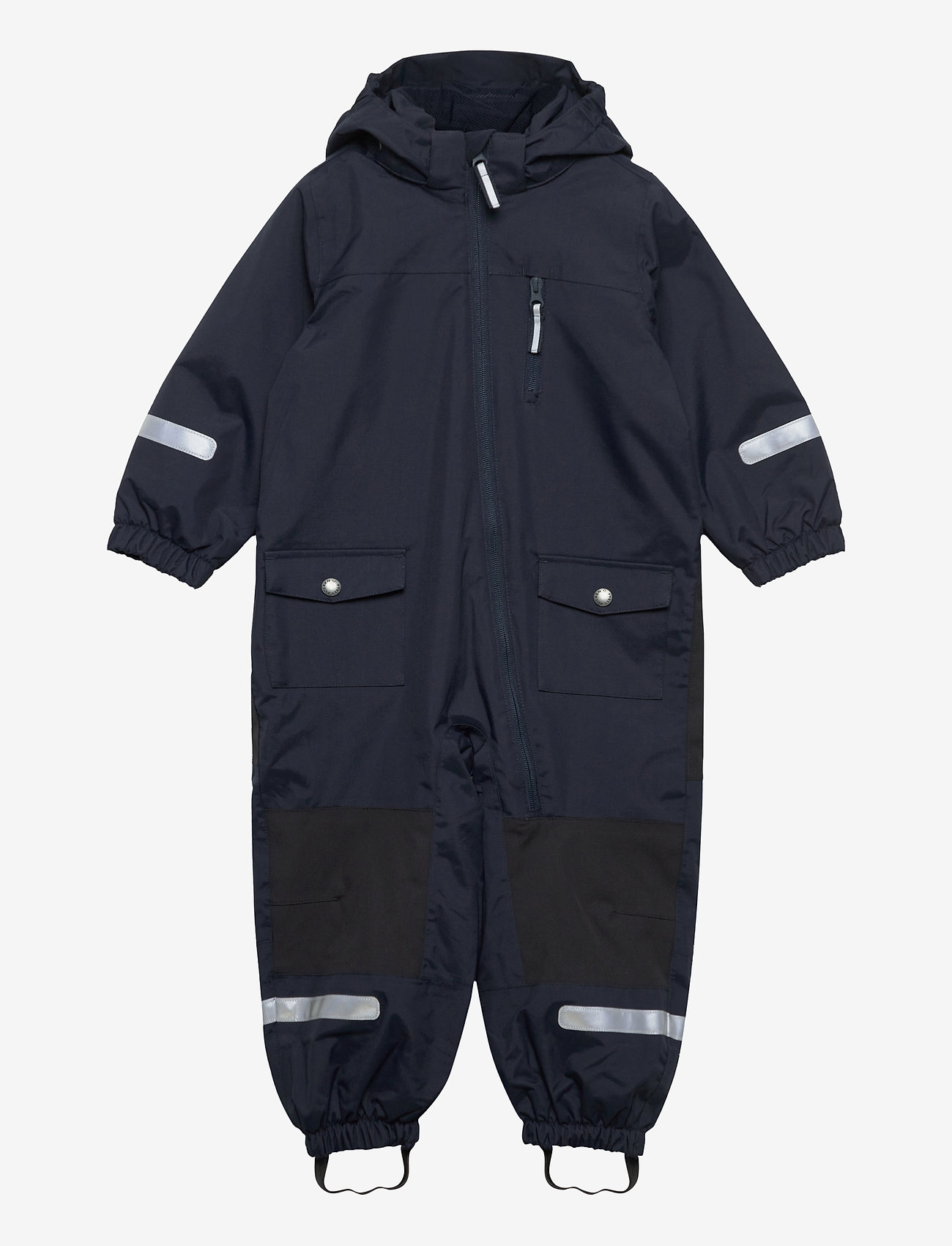 Polarn O. Pyret - Overall Shell Lined Preschool - vêtements shell - dark sapphire - 0