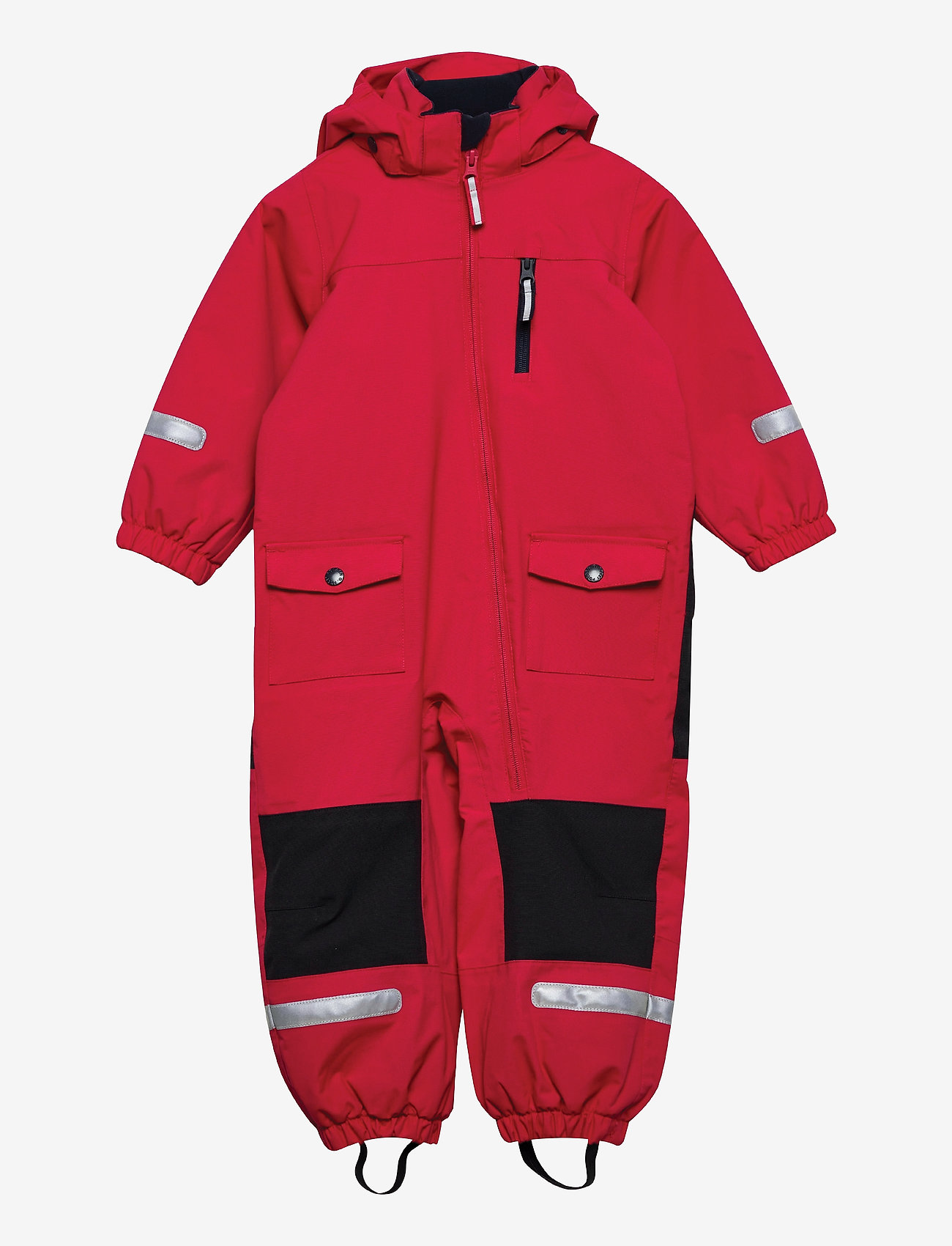 Polarn O. Pyret - Overall Shell Lined Preschool - shell clothing - ski patrol - 0