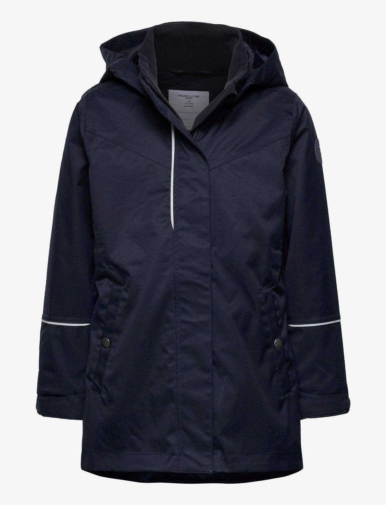 Polarn O. Pyret - Jacket Long School - shell jassen - dark sapphire - 0