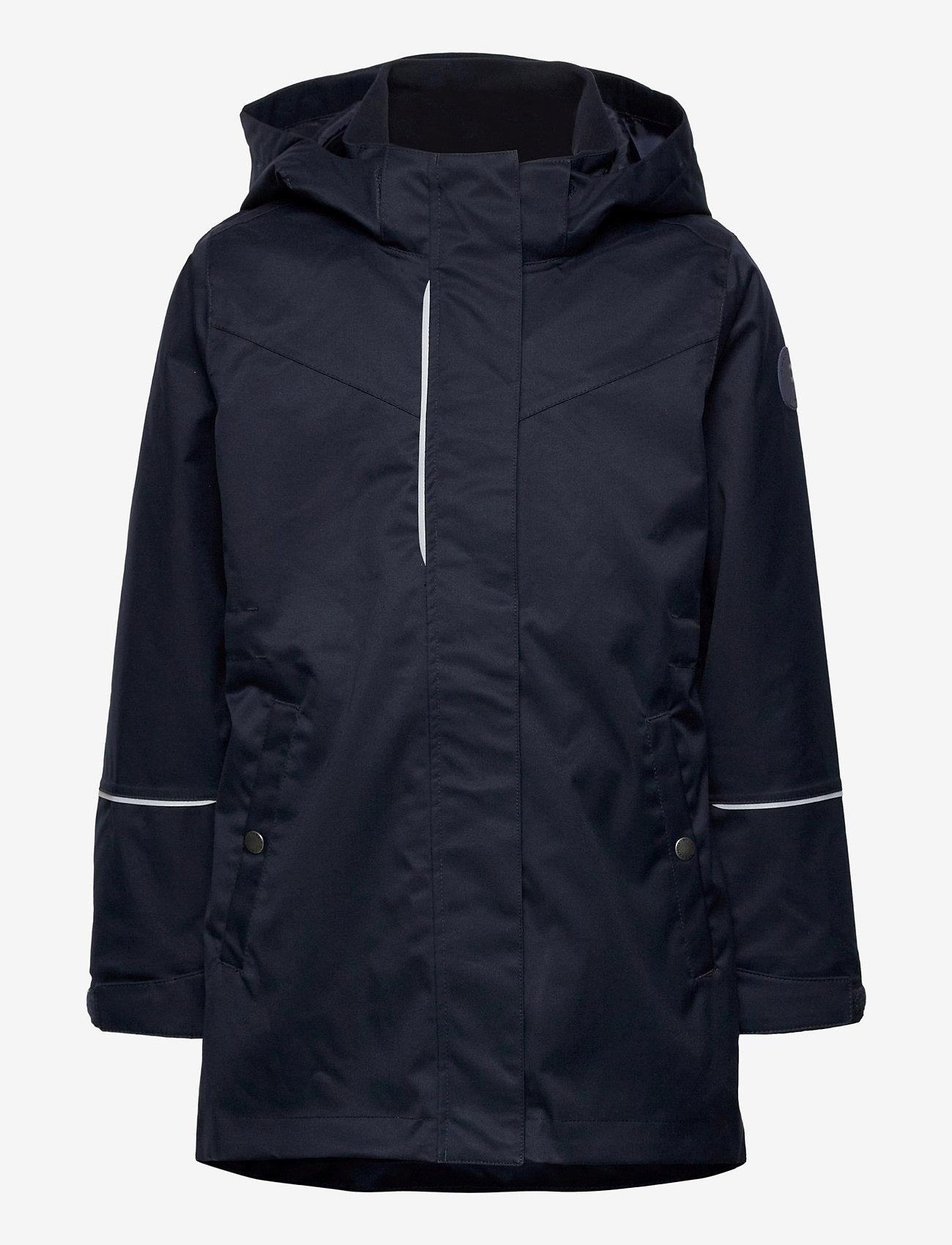 Polarn O. Pyret - Jacket Long School - shell jassen - dark sapphire - 1