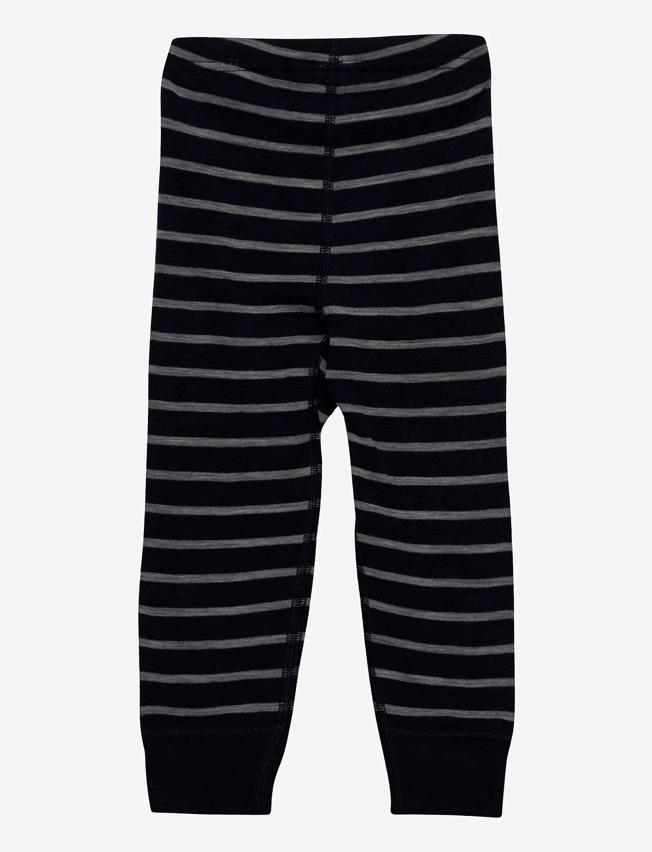 Polarn O. Pyret - Long Johns Wool Striped Baby - bovenkleding - dark sapphire - 1
