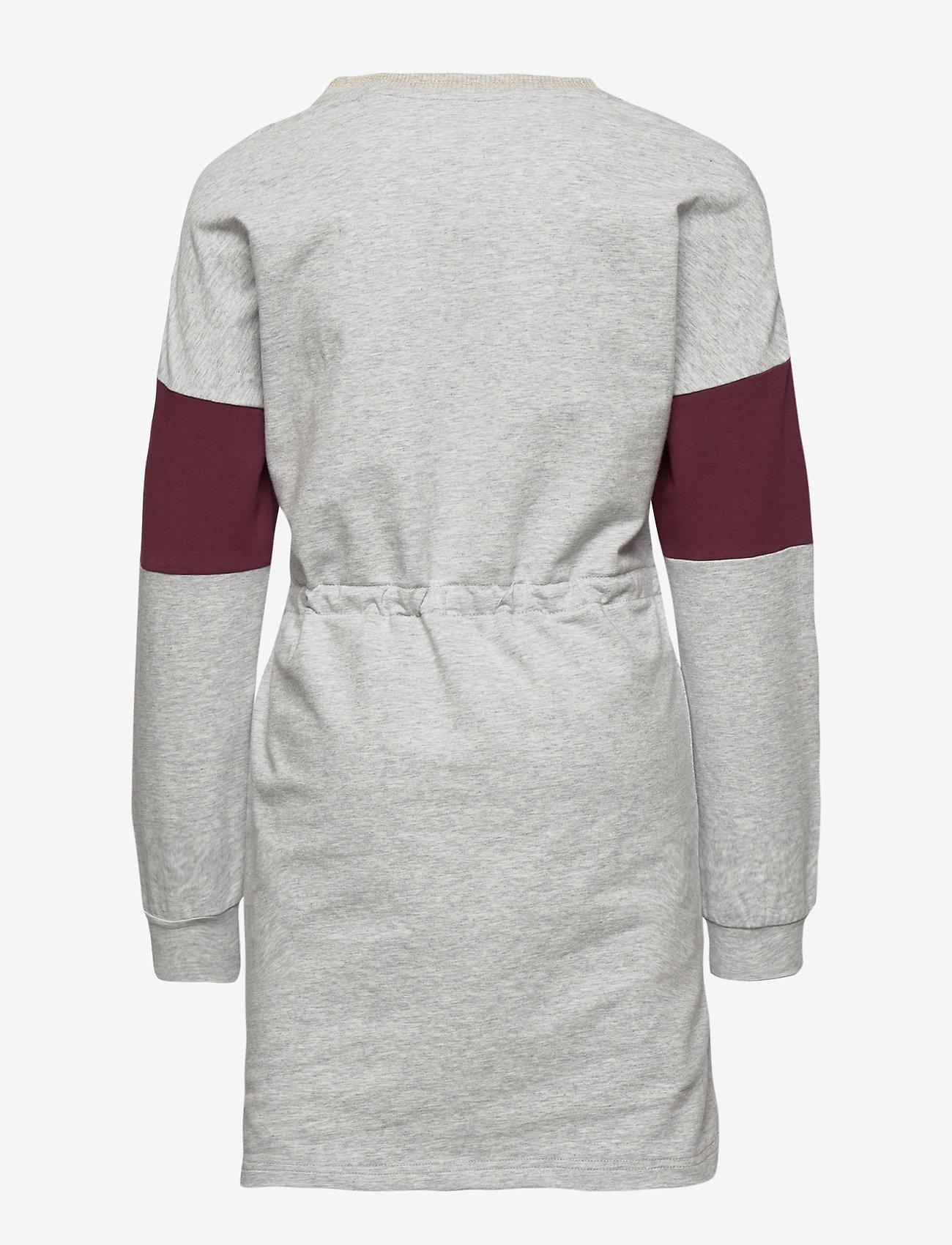 Polarn O. Pyret - Dress Jersey School - robes - greymelange - 1