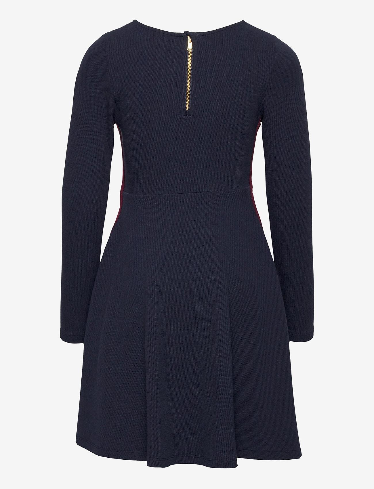 Polarn O. Pyret - Dress l/s Jersey School - robes - dark sapphire - 1