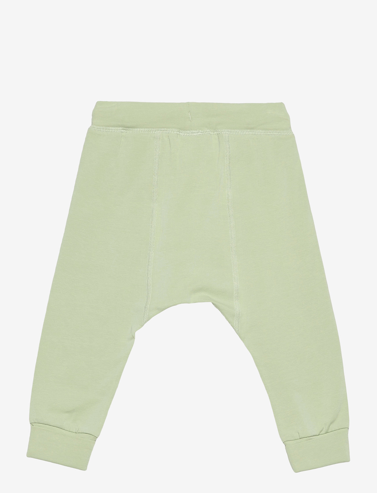 Polarn O. Pyret - Trousers Solid Baby - trousers - smoke green - 1