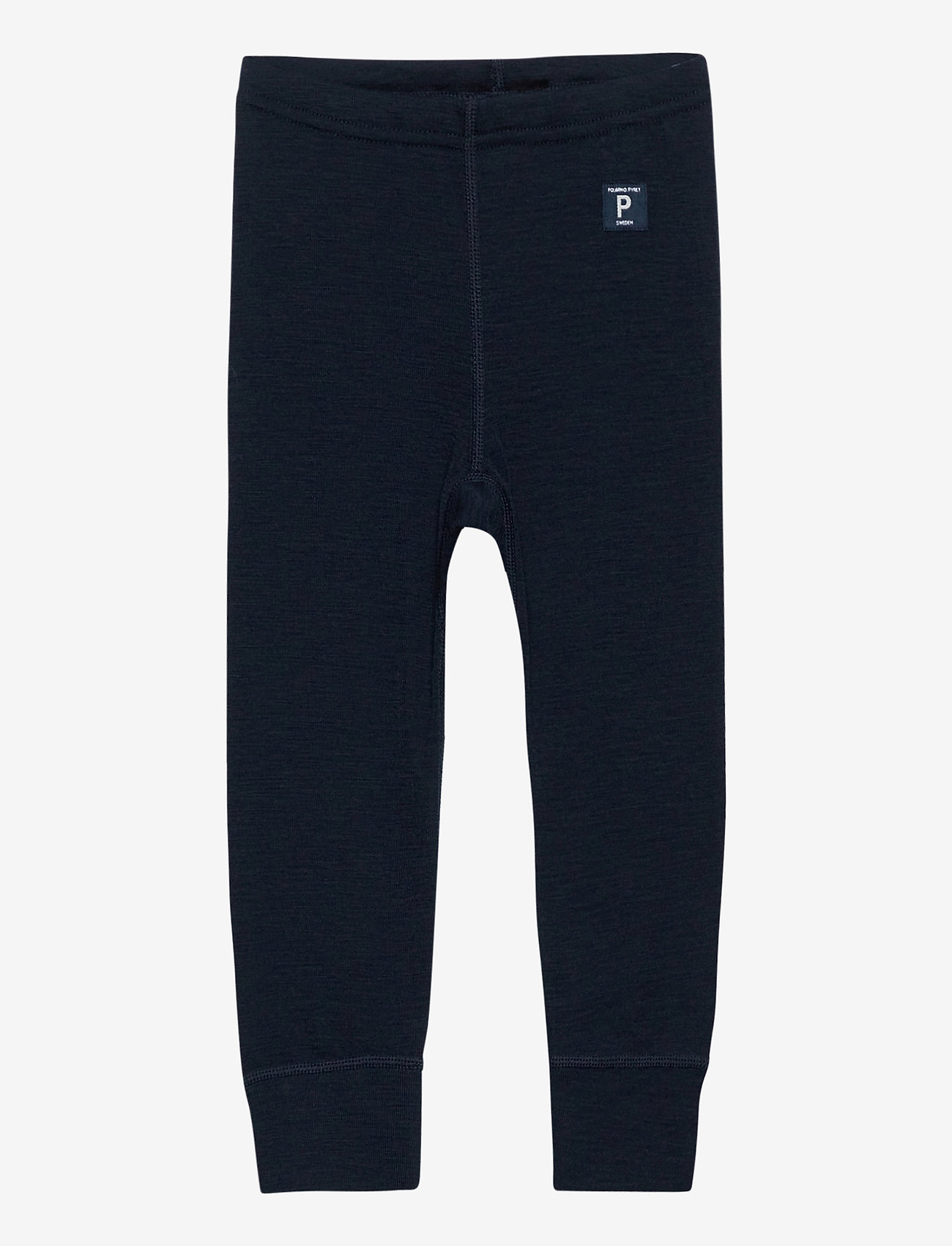 Polarn O. Pyret - Long Johns Wool Solid Baby - bovenkleding - dark sapphire - 0