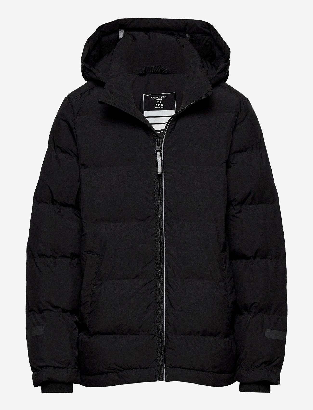 Polarn O. Pyret - Jacket Padded School - gewatteerde jassen - black - 0