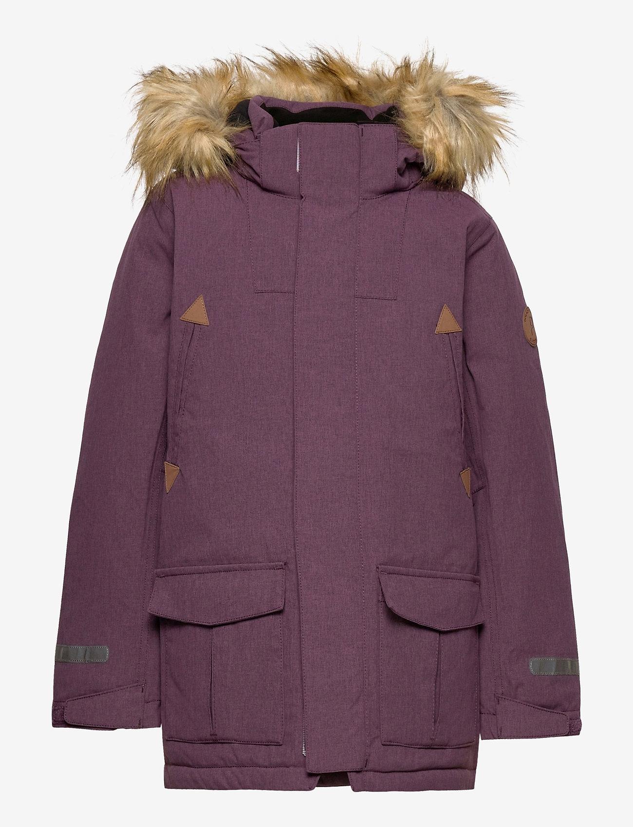 Polarn O. Pyret - Jacket Padded w Hood School - parkas - moon - 0