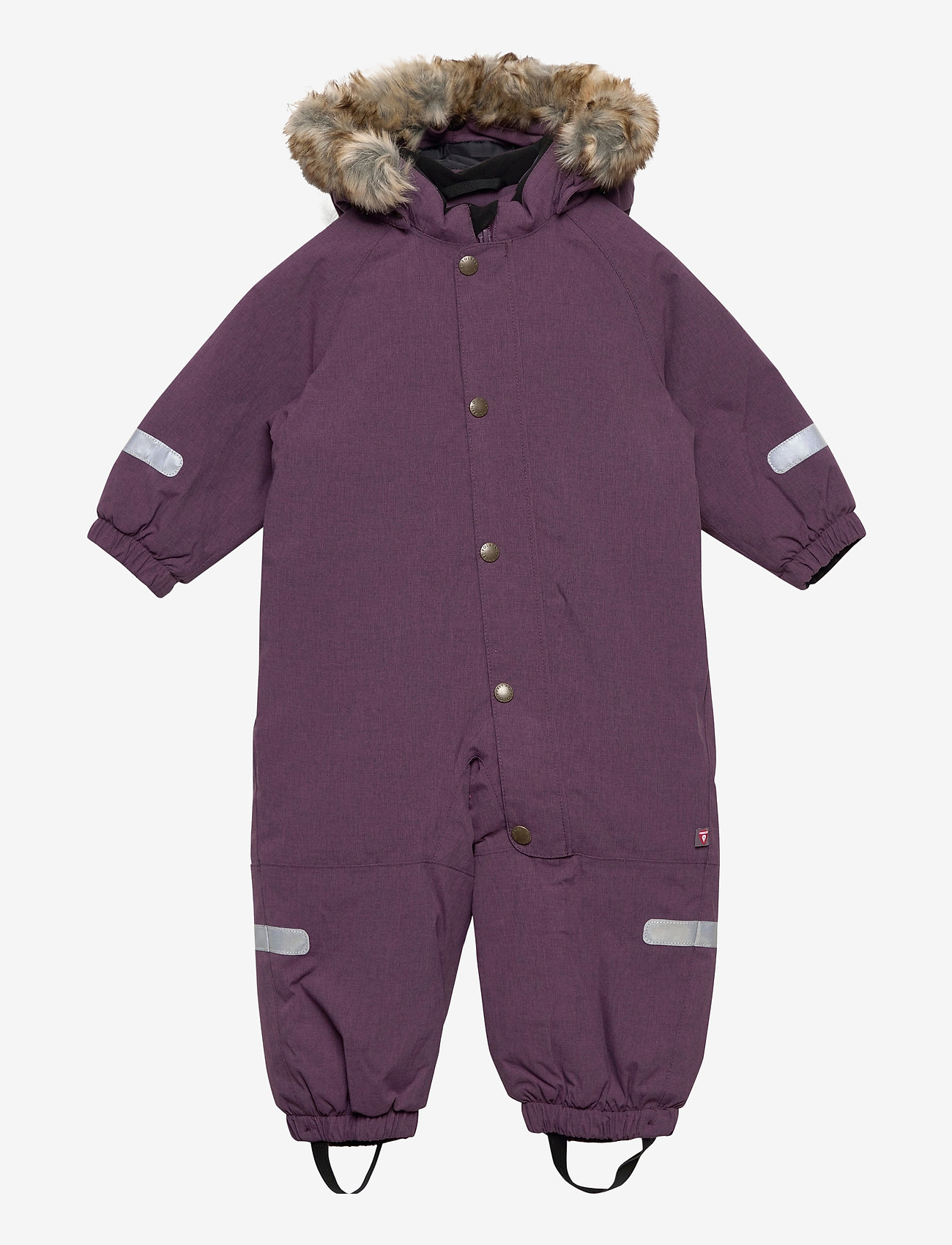 Polarn O. Pyret - Overall Solid Baby - snowsuit - moon - 0