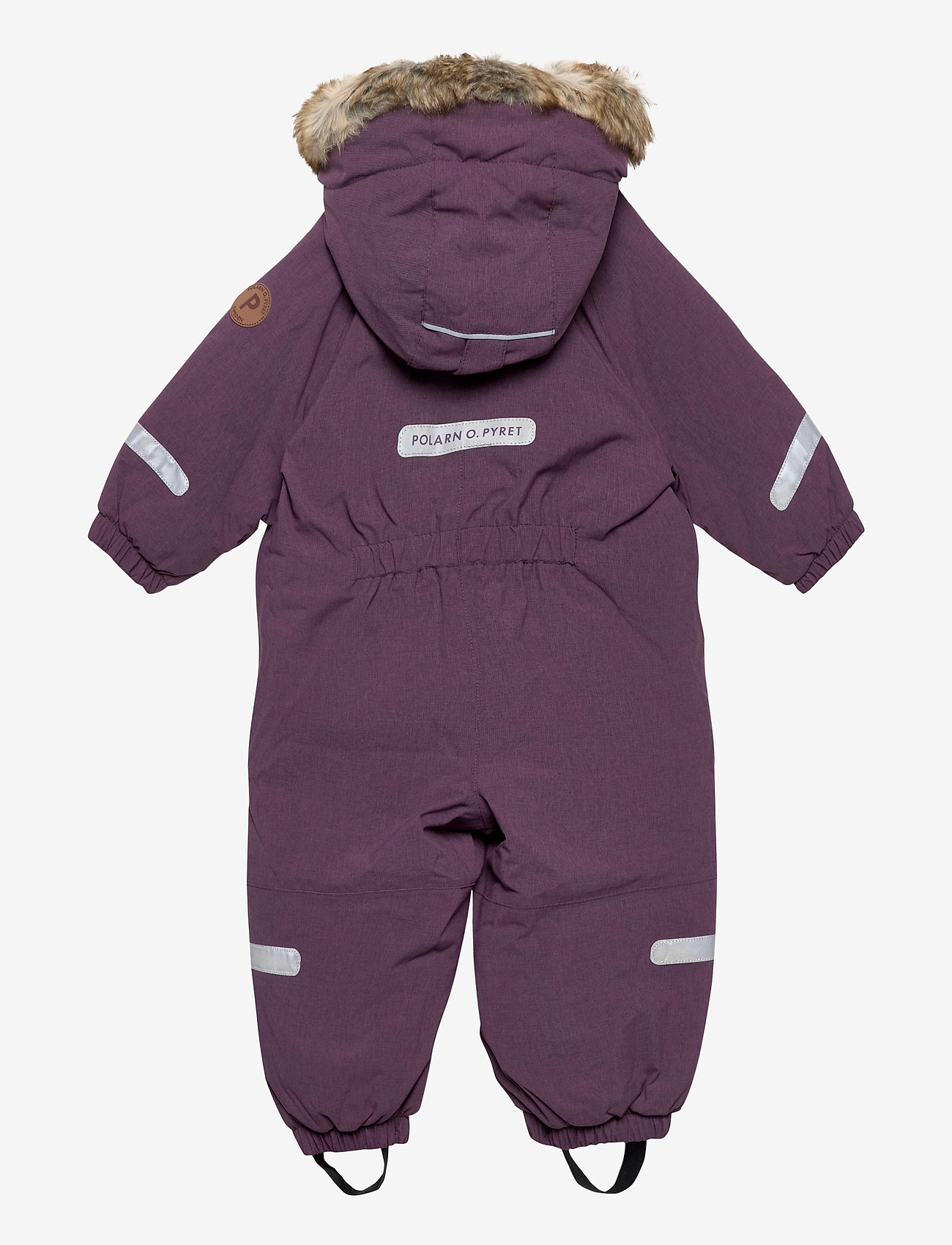 Polarn O. Pyret - Overall Solid Baby - snowsuit - moon - 1