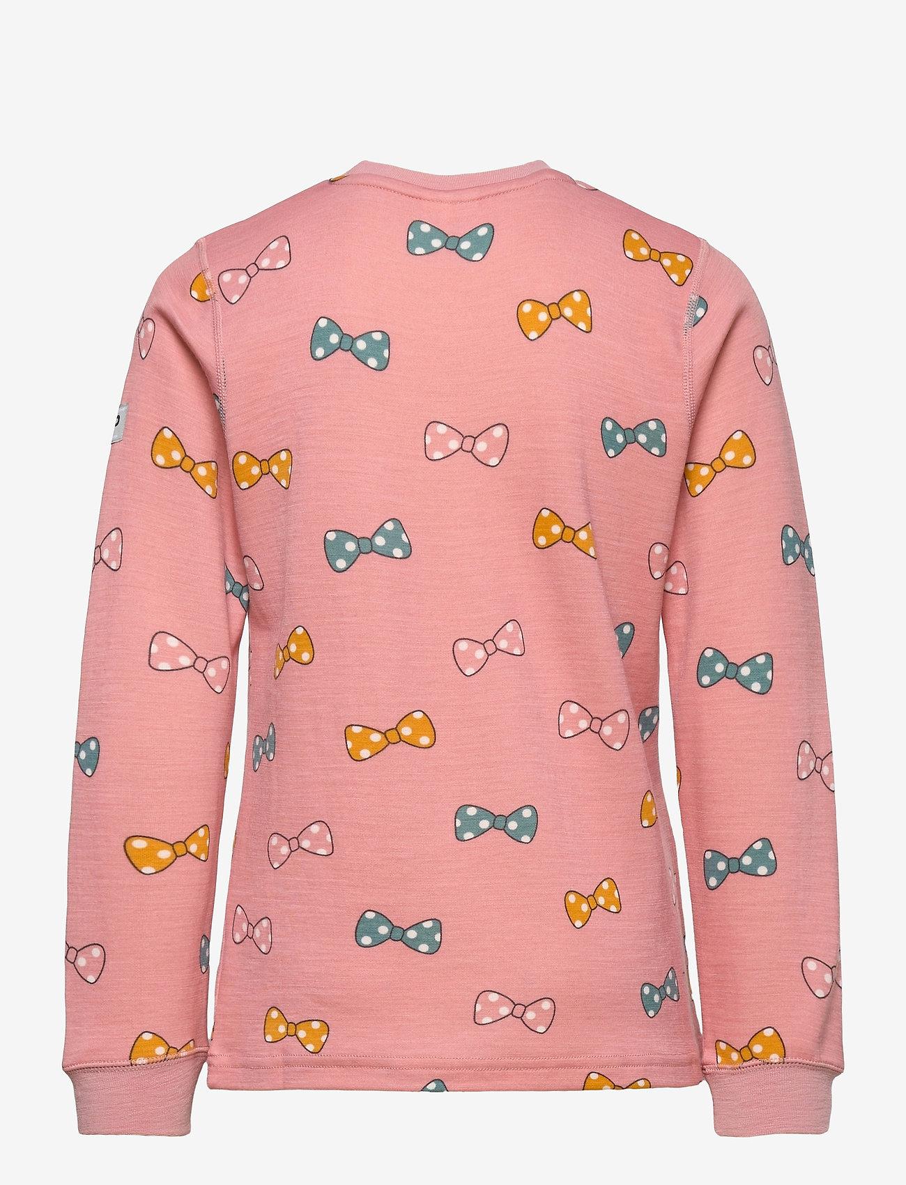 Polarn O. Pyret - Top Wool Preschool - lange mouwen - bridal rose - 1