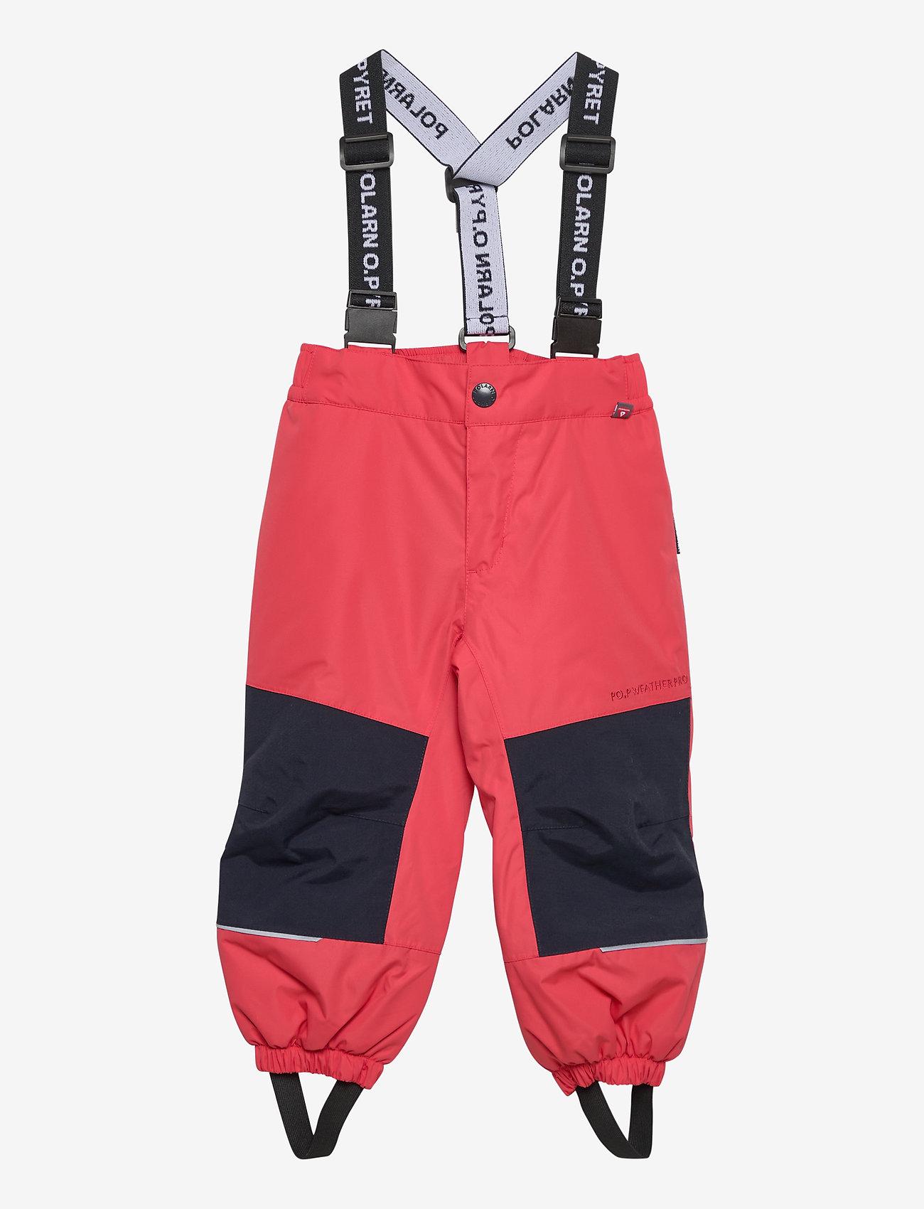 Polarn O. Pyret - Trousers PO.P Flexi-Size Preschool - shell clothing - cayenne - 0