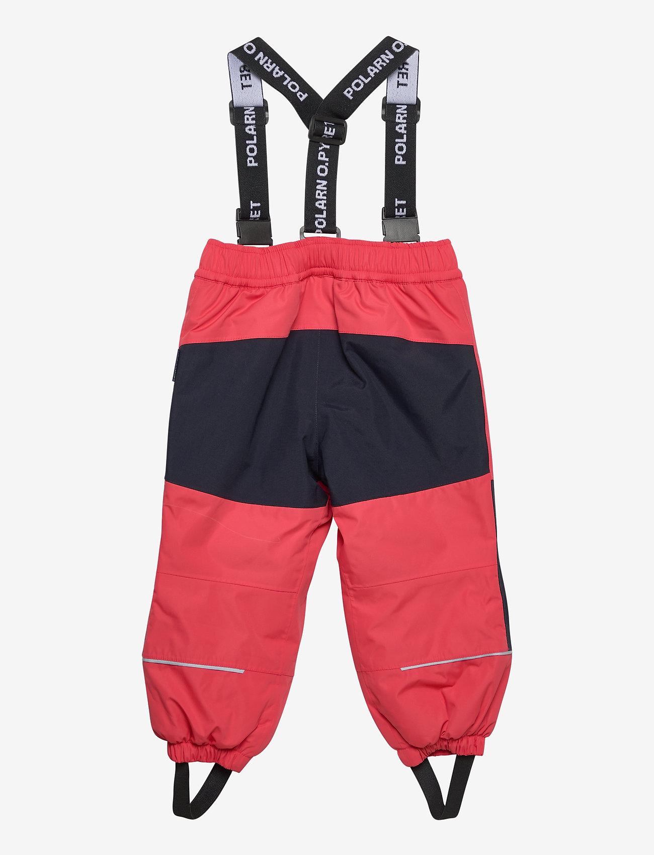Polarn O. Pyret - Trousers PO.P Flexi-Size Preschool - shell clothing - cayenne - 1