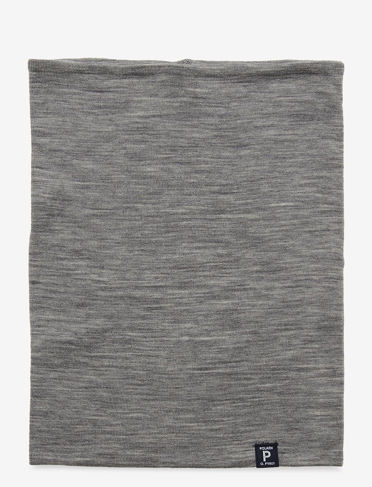 Polarn O. Pyret - Collar Solid PreSchool - accessoires - greymelange - 1