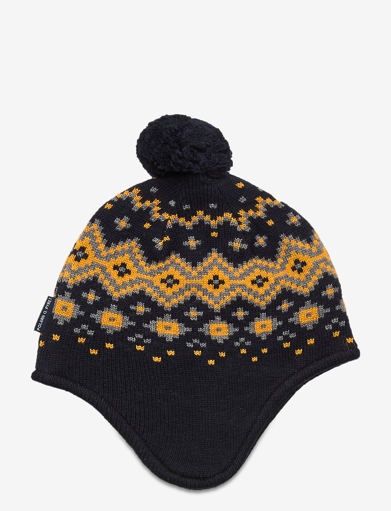 Polarn O. Pyret - Cap Knitted Baby - hoeden & handschoenen - dark sapphire - 0