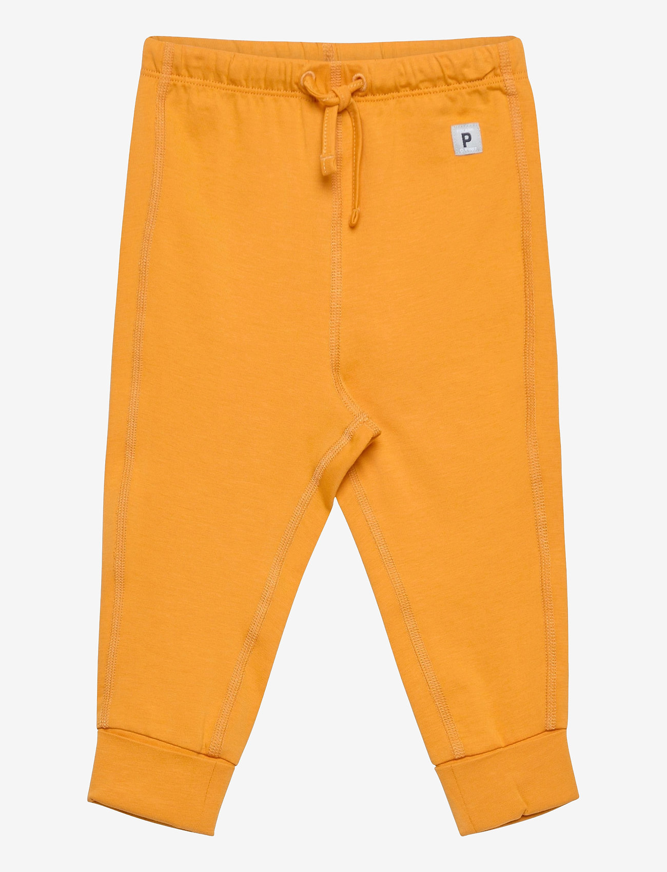 Polarn O. Pyret - Trousers Solid Baby - trousers - autumn blaze - 0