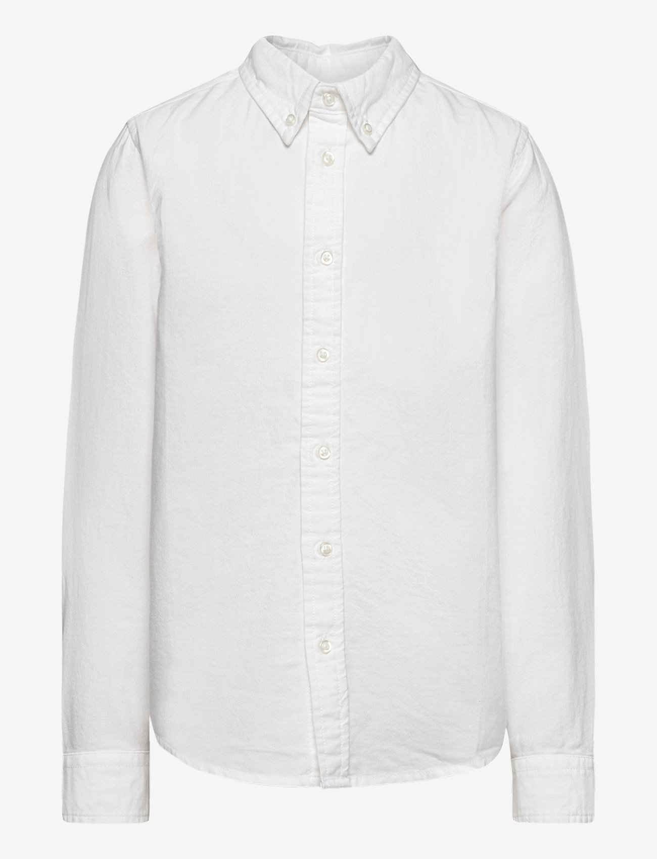 Polarn O. Pyret - Shirt Solid Oxford School - overhemden - bright white - 0