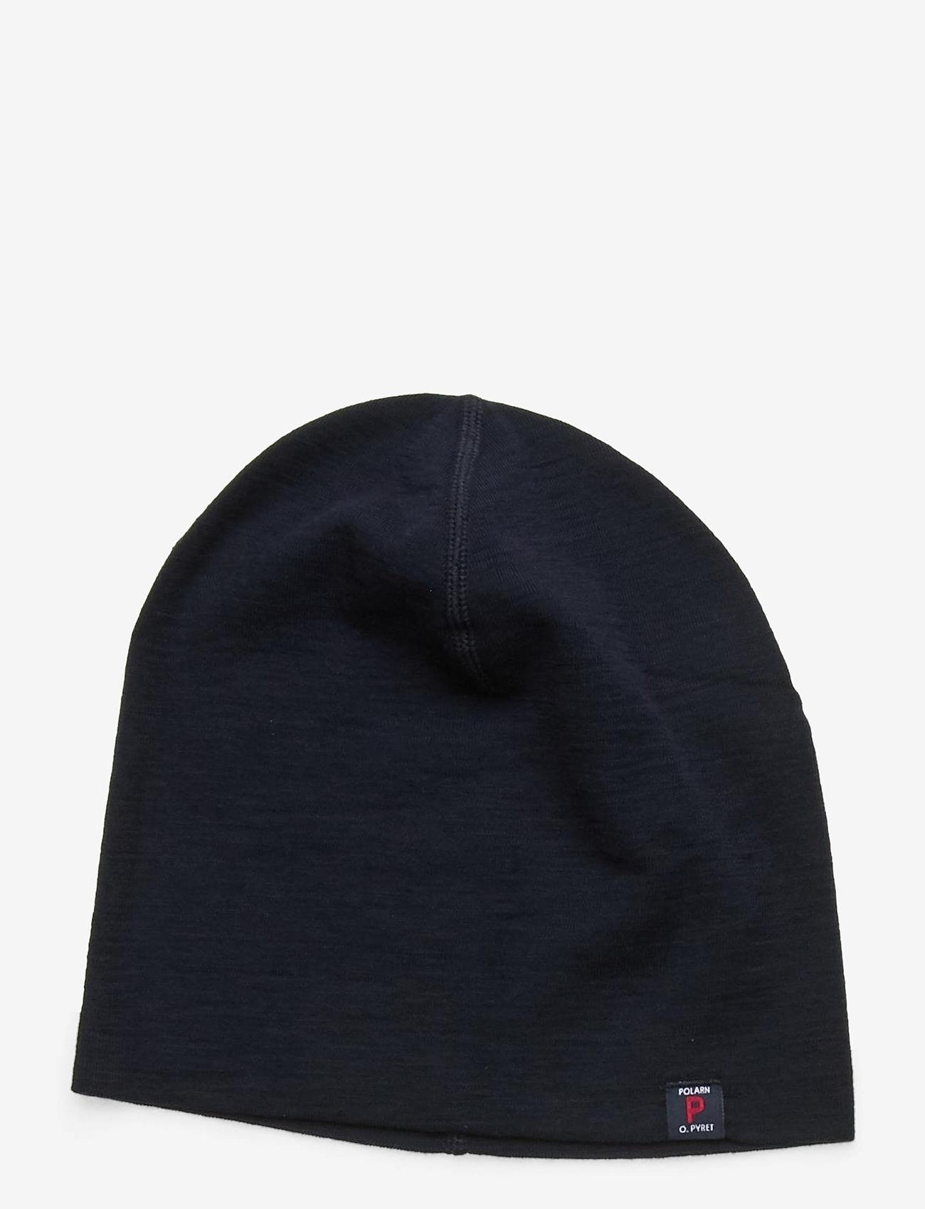 Polarn O. Pyret - Cap Wool Solid - hoed - dark sapphire - 0