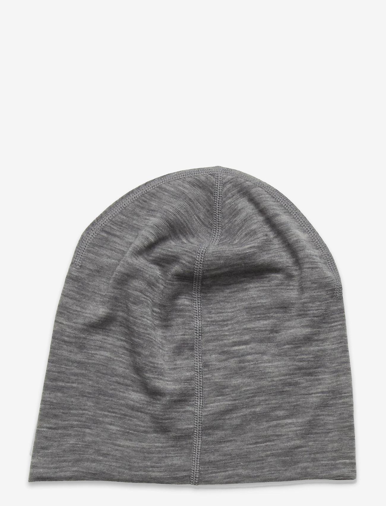Polarn O. Pyret - Cap Wool Solid - hoed - greymelange - 1