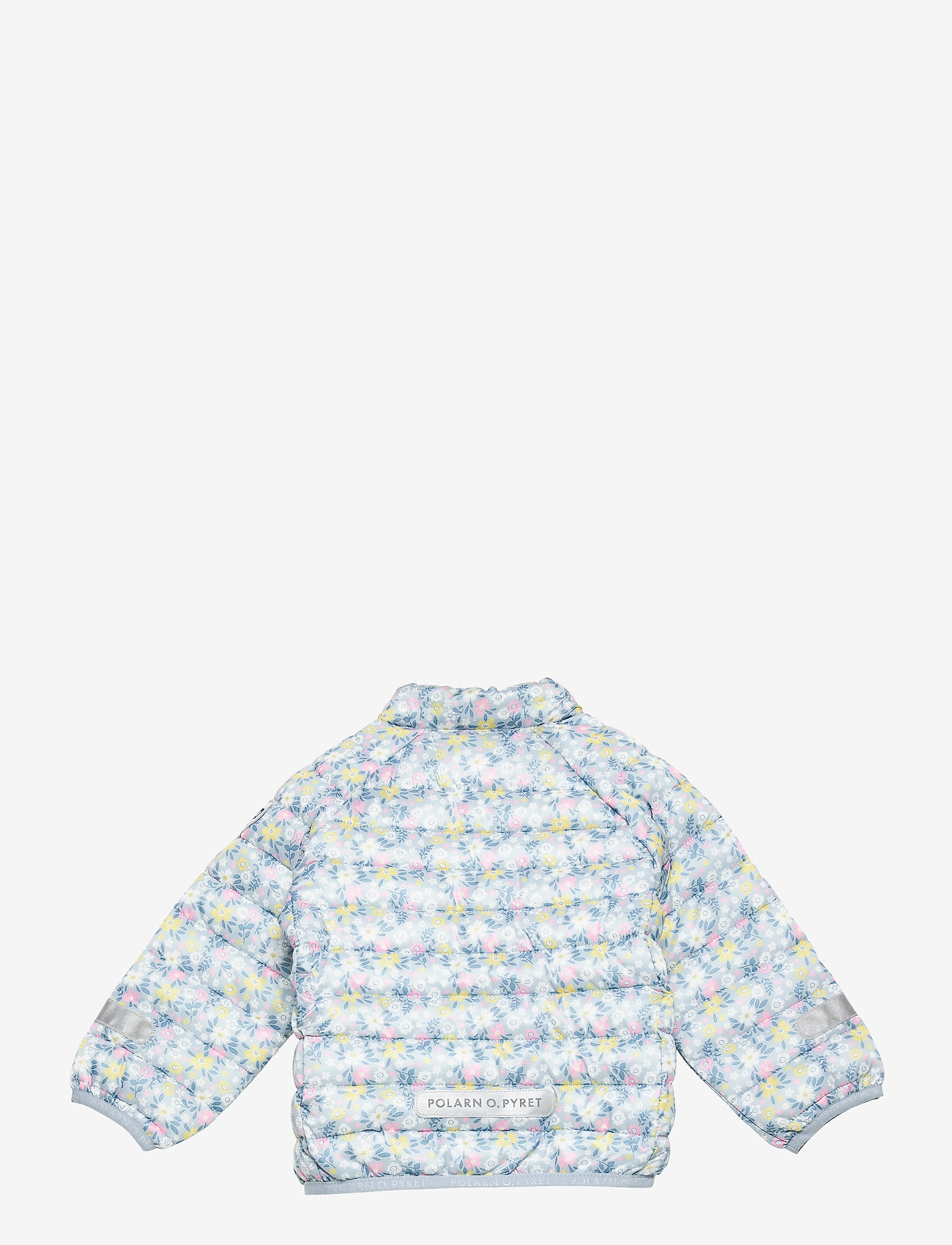 Polarn O. Pyret - Jacket Light Padded Solid - gewatteerde jassen - blue fog - 1