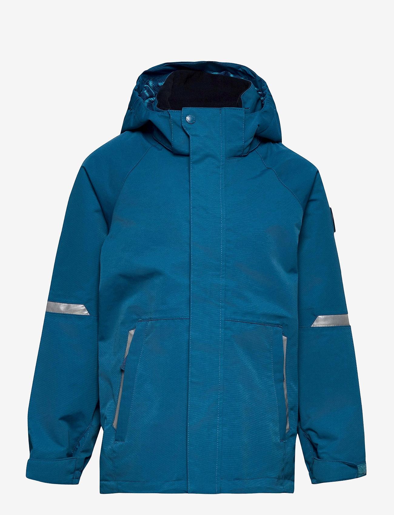 Polarn O. Pyret - Jacket Shell Solid - shell jassen - blue sapphire - 0