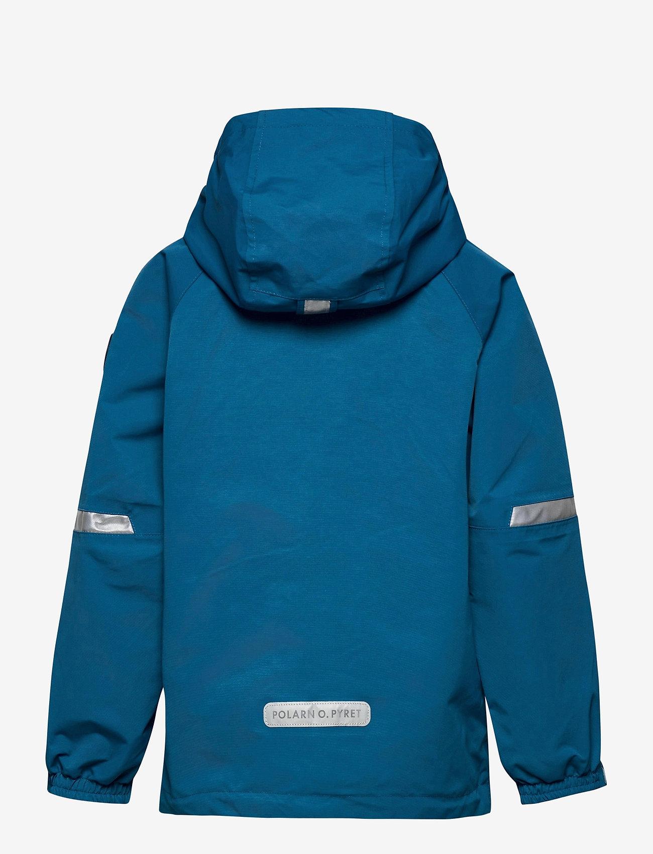 Polarn O. Pyret - Jacket Shell Solid - shell jassen - blue sapphire - 1