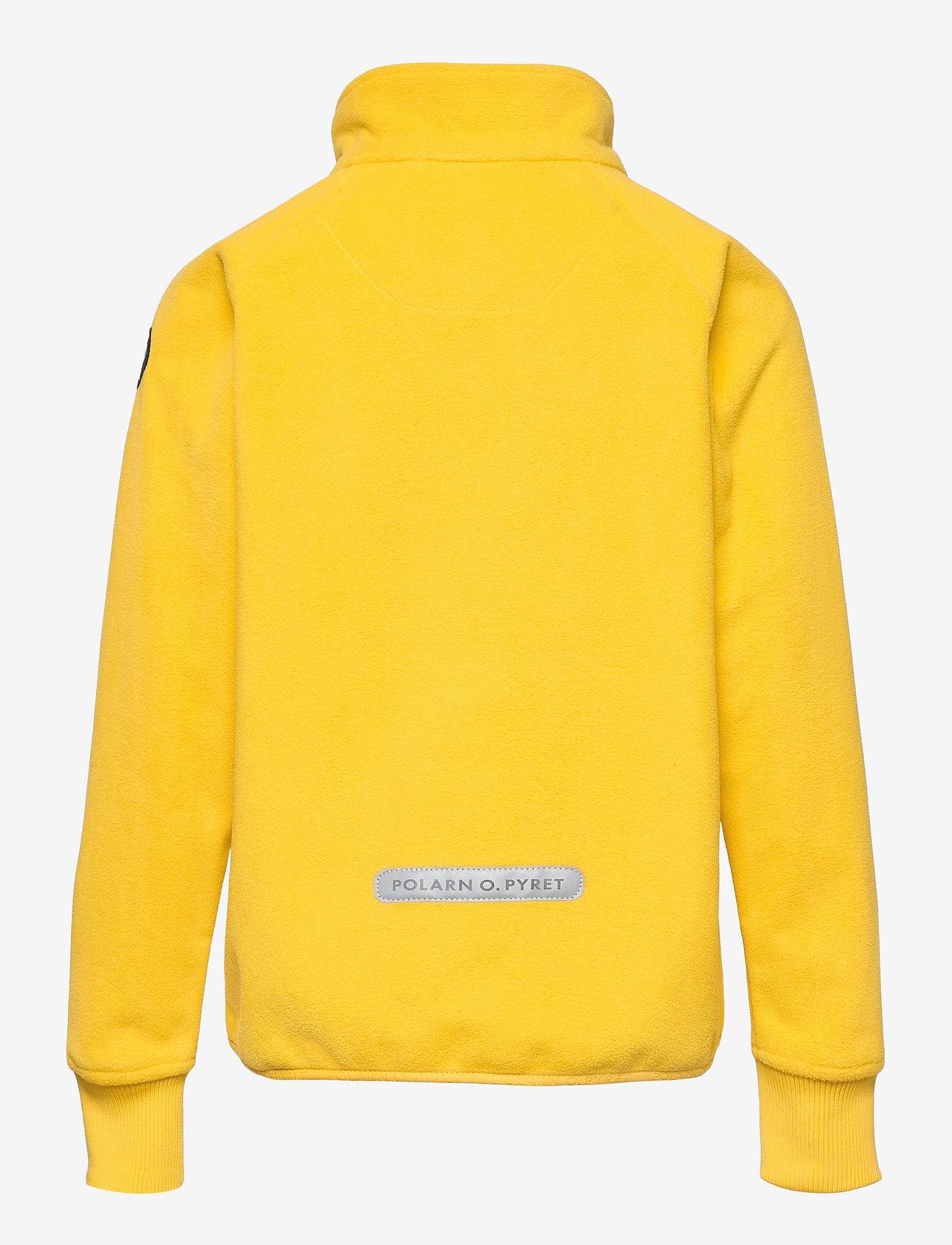 Polarn O. Pyret - Jacket Windfleece Solid - fleece - lemon drop - 1
