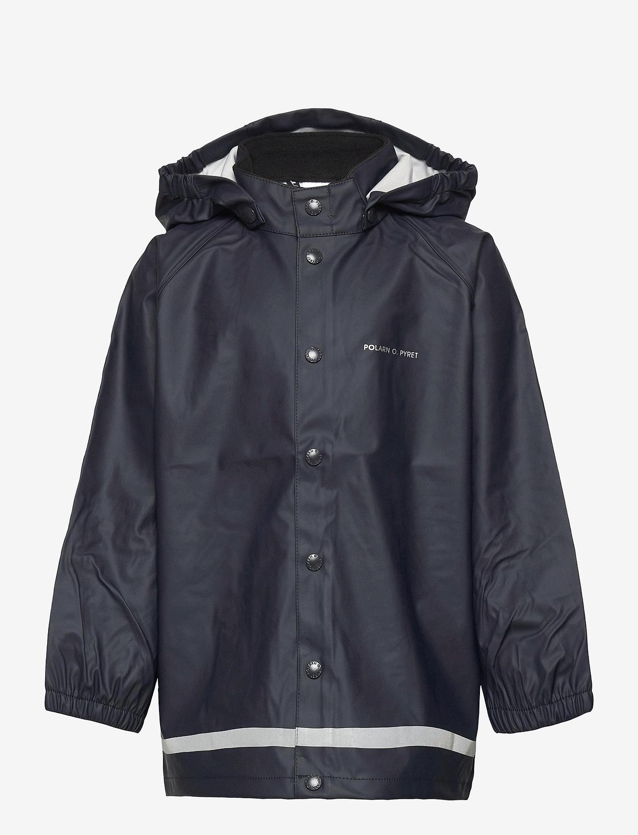 Polarn O. Pyret - Rain Jacket Solid - jassen - dark sapphire - 0