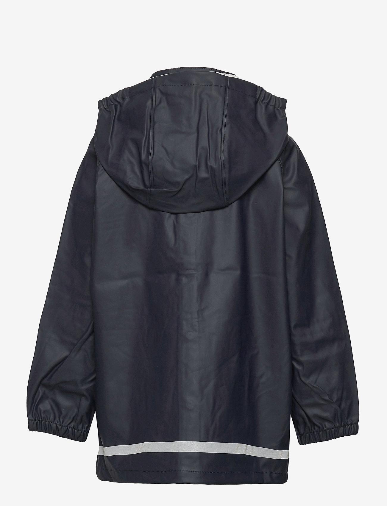 Polarn O. Pyret - Rain Jacket Solid - jassen - dark sapphire - 1