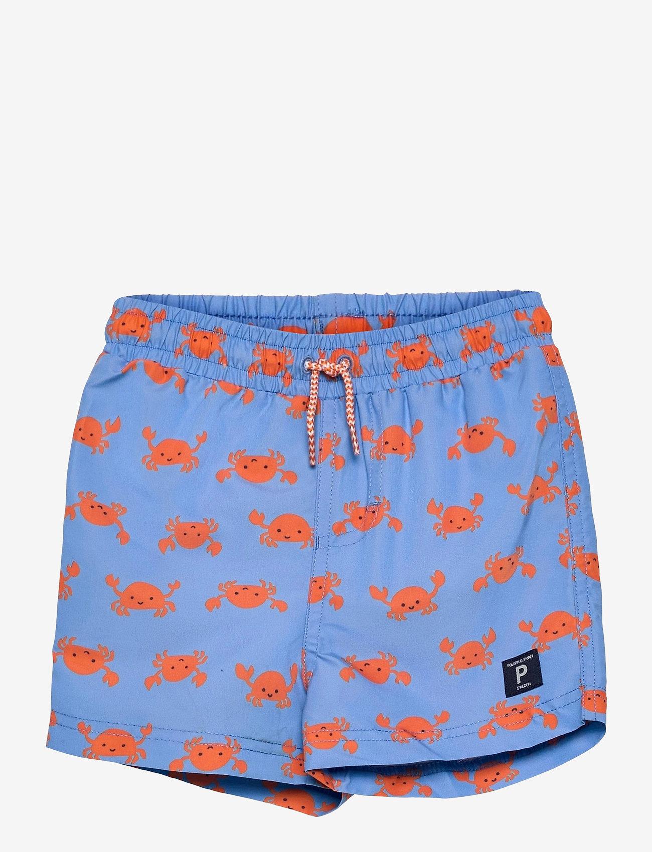 Polarn O. Pyret - Swimwear Pants AOP - badehosen - airy blue - 0
