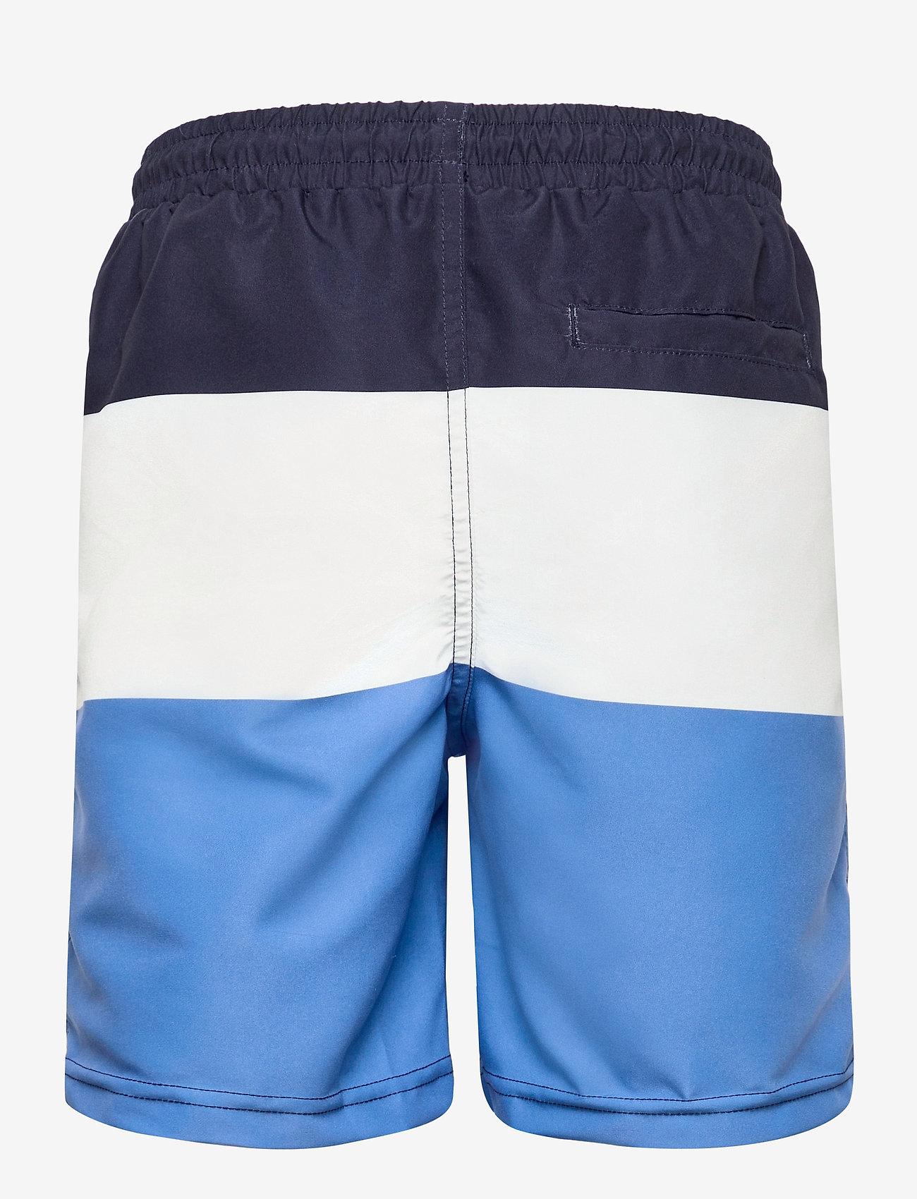 Polarn O. Pyret - Swimwear Pants Blocked - badehosen - dark sapphire - 1