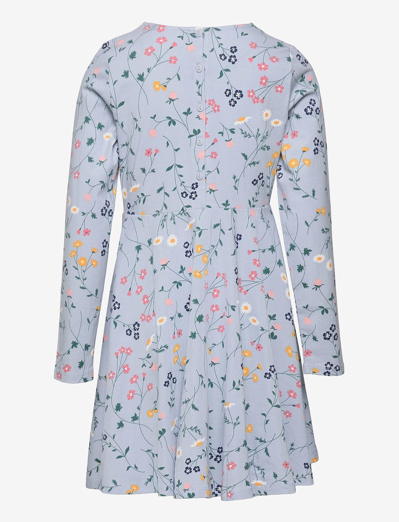 Polarn O. Pyret - Dress AOP jersey School - kleider - blue fog - 1
