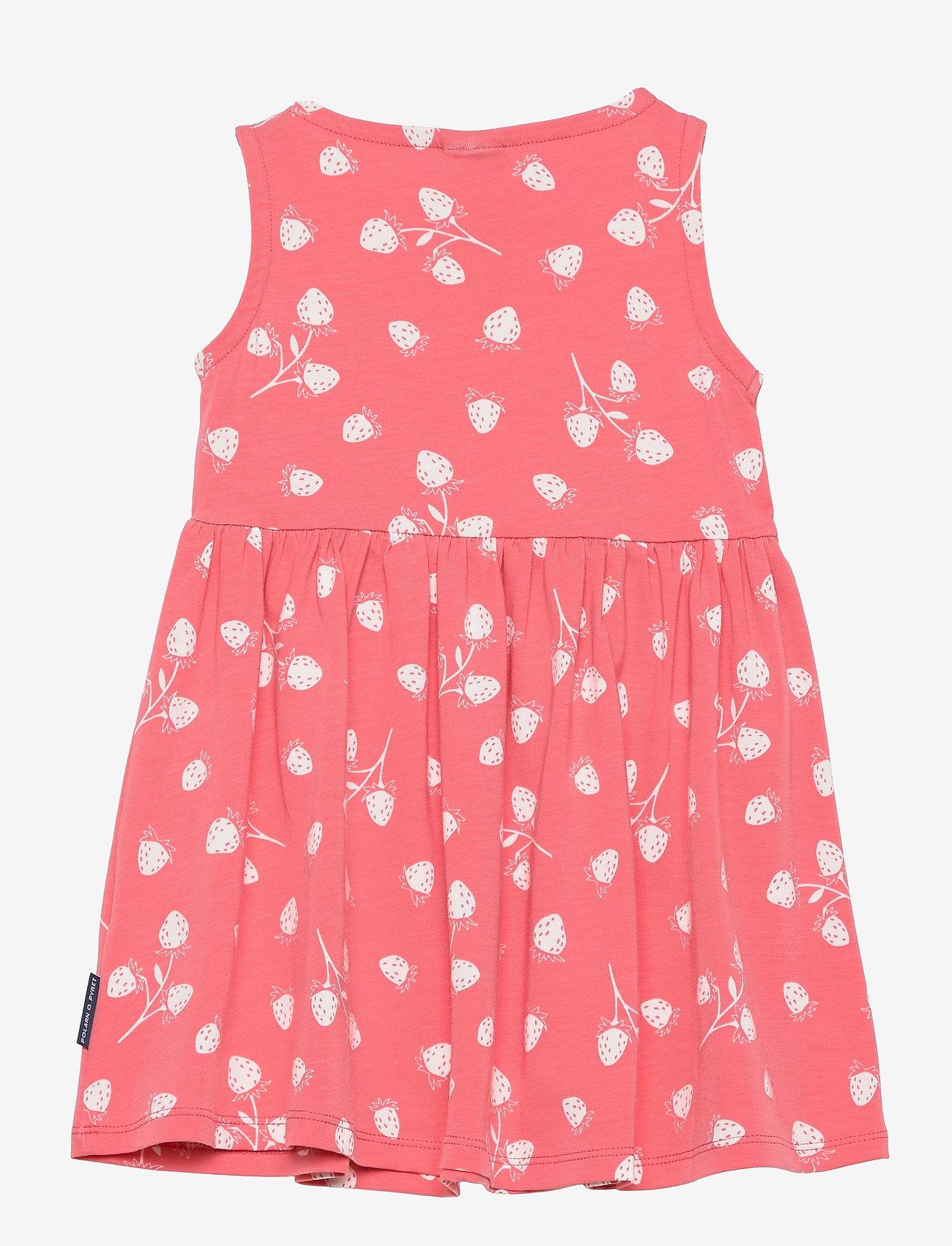 Polarn O. Pyret - Dress Jersey AOP s/s Preschool - kleider - tea rose - 1