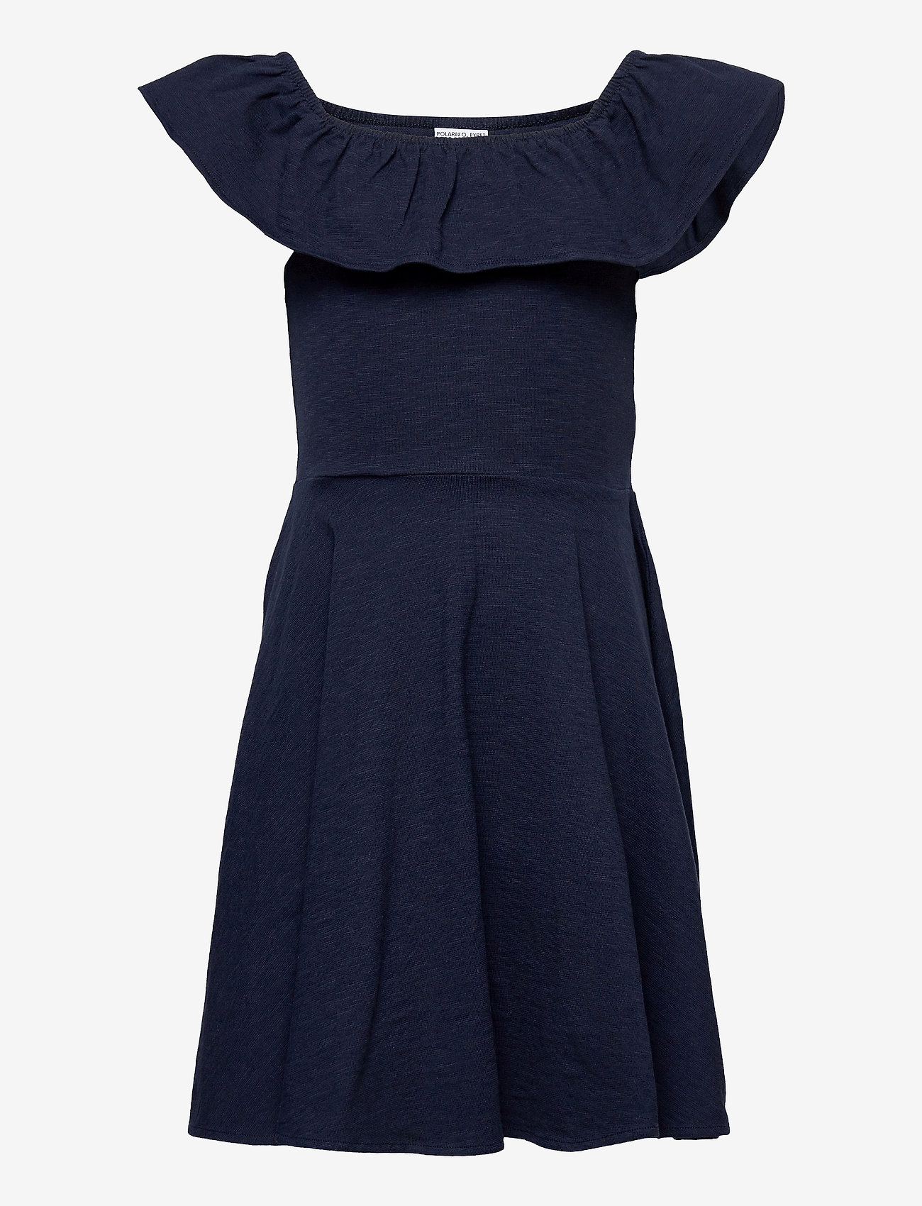Polarn O. Pyret - Dress Jersey solid s/s School - dark sapphire - 0