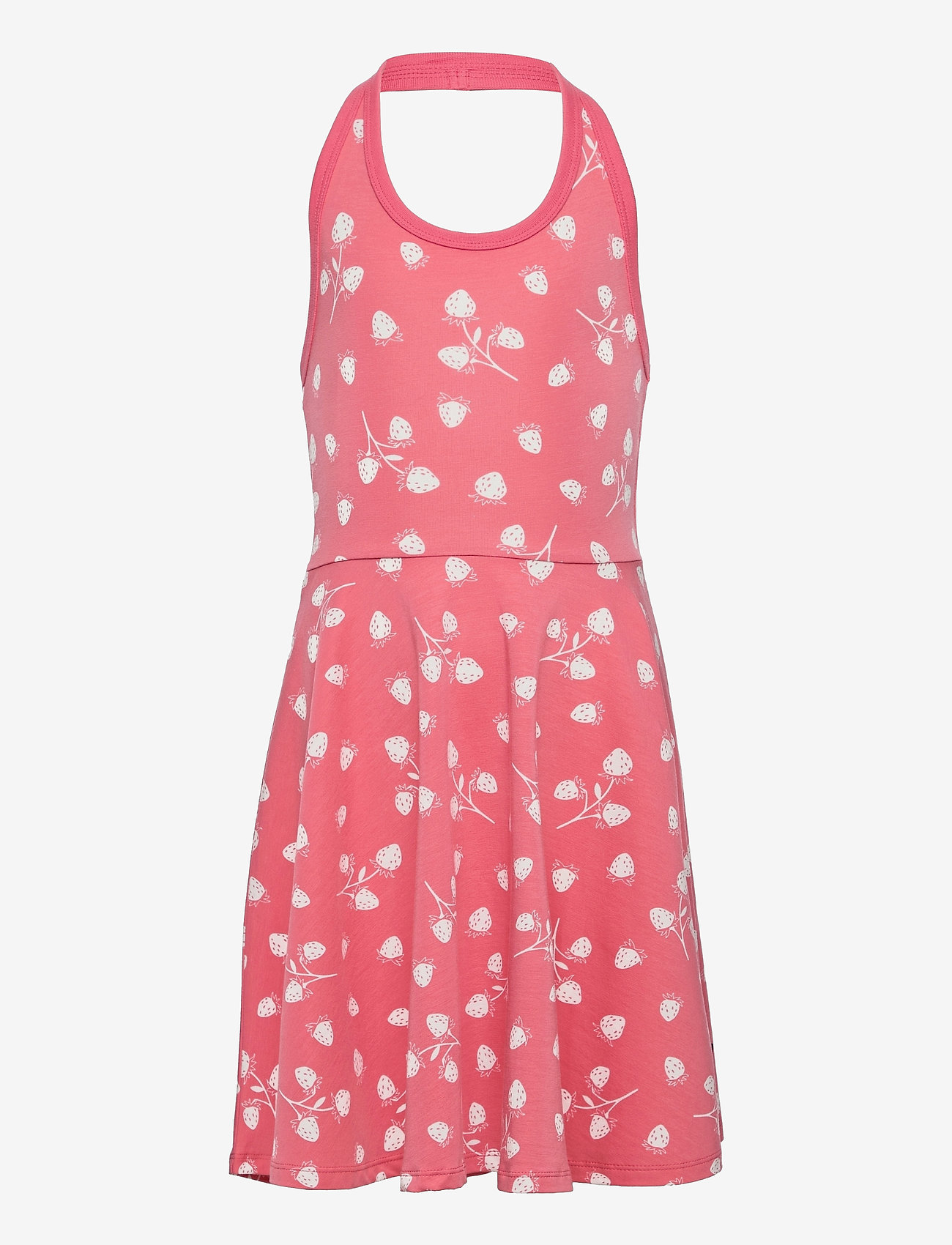 Polarn O. Pyret - Dress Jersey AOP s/s School - kleider - tea rose - 0