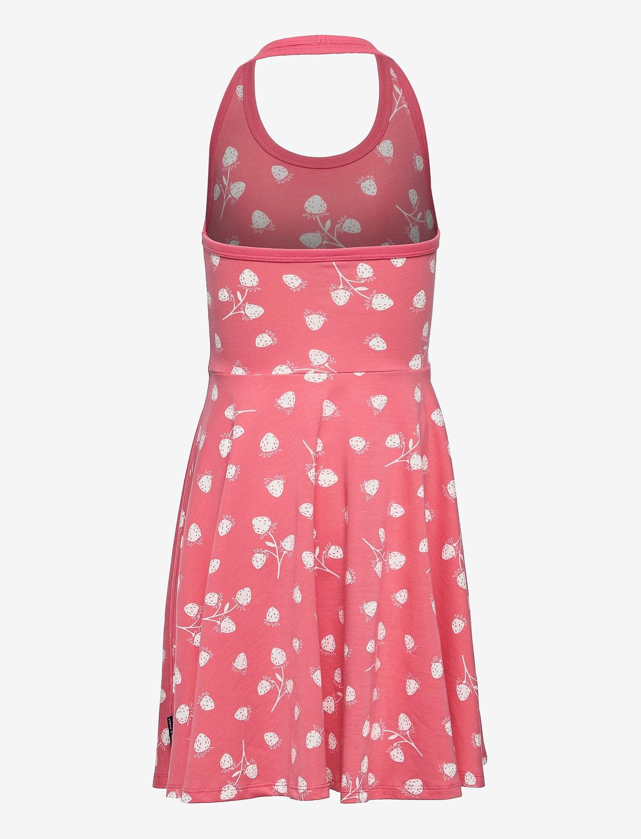 Polarn O. Pyret - Dress Jersey AOP s/s School - kleider - tea rose - 1