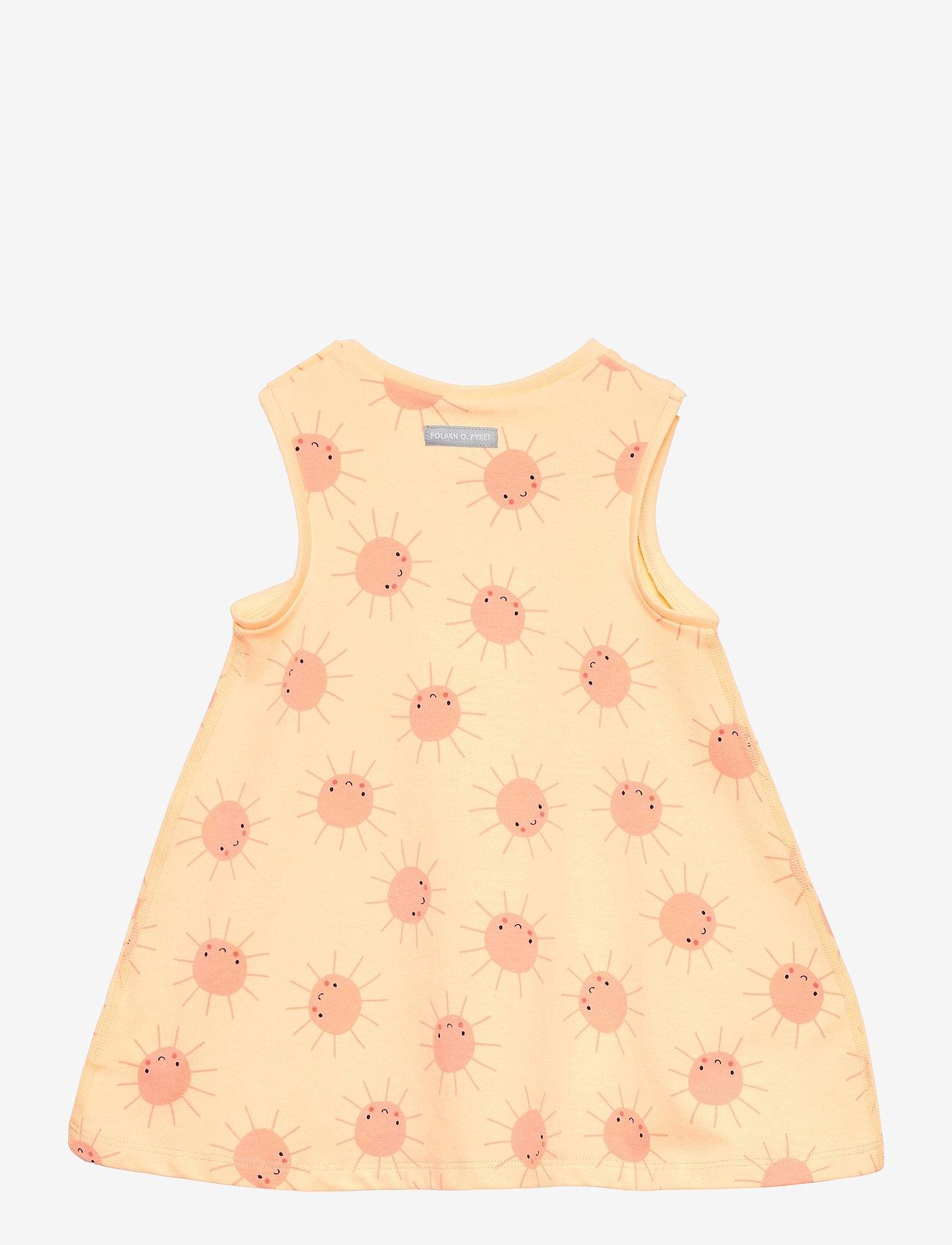 Polarn O. Pyret - Dress AOP Baby - kleider - impala - 1