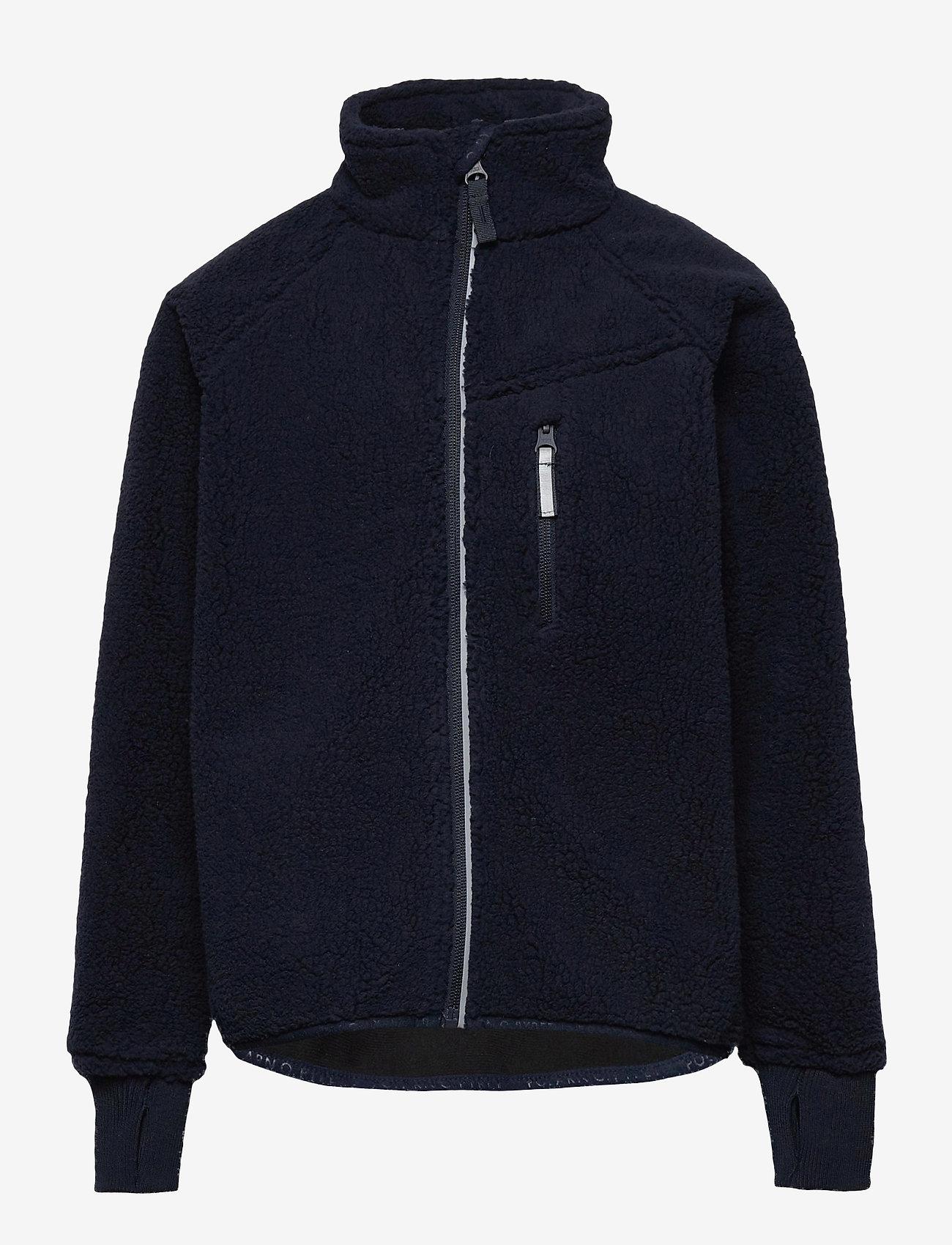 Polarn O. Pyret - Jacket Windfleece Solid - fleece - dark sapphire - 0